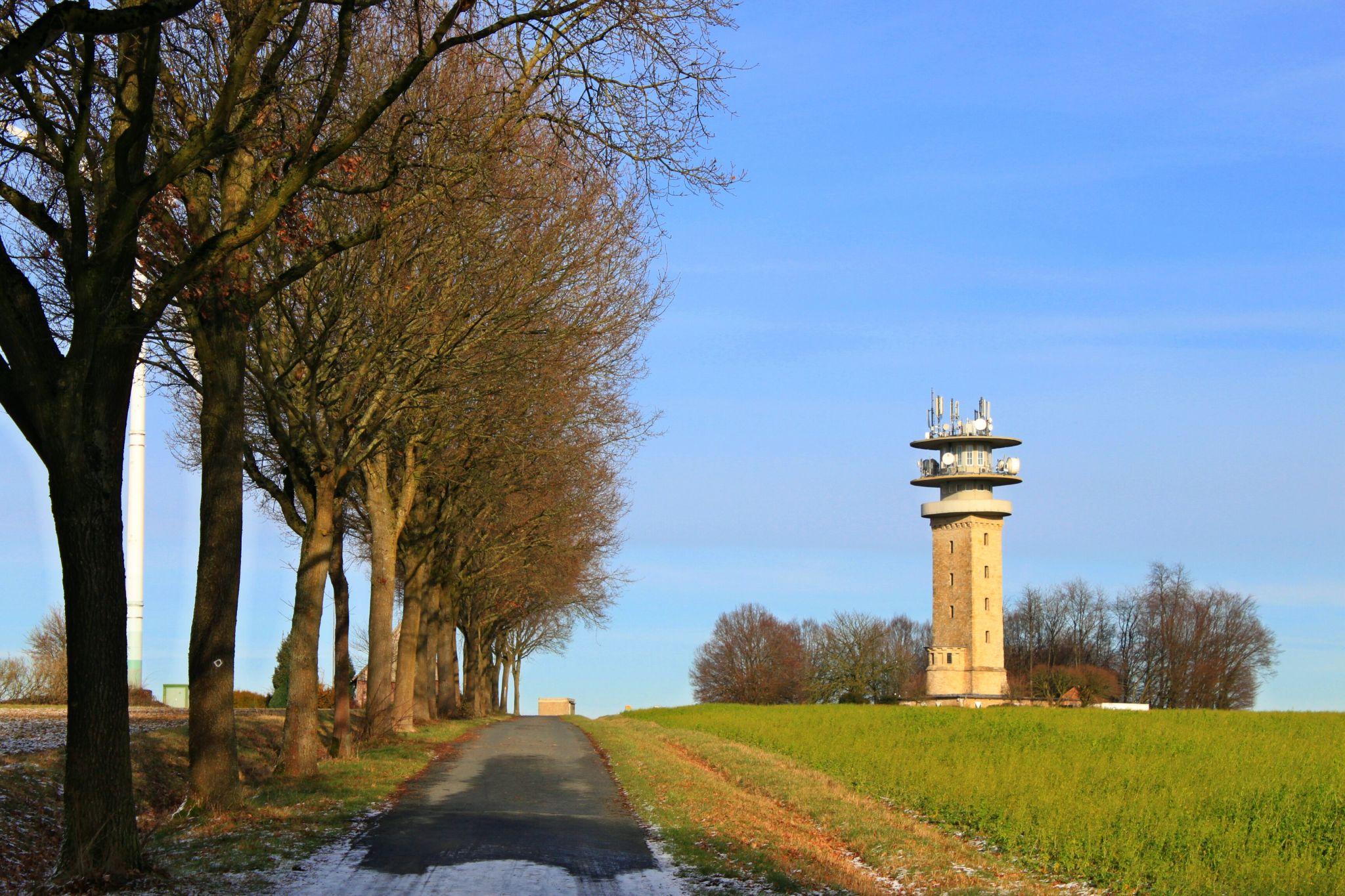 Longinus Tower on the Baumberg, Germany