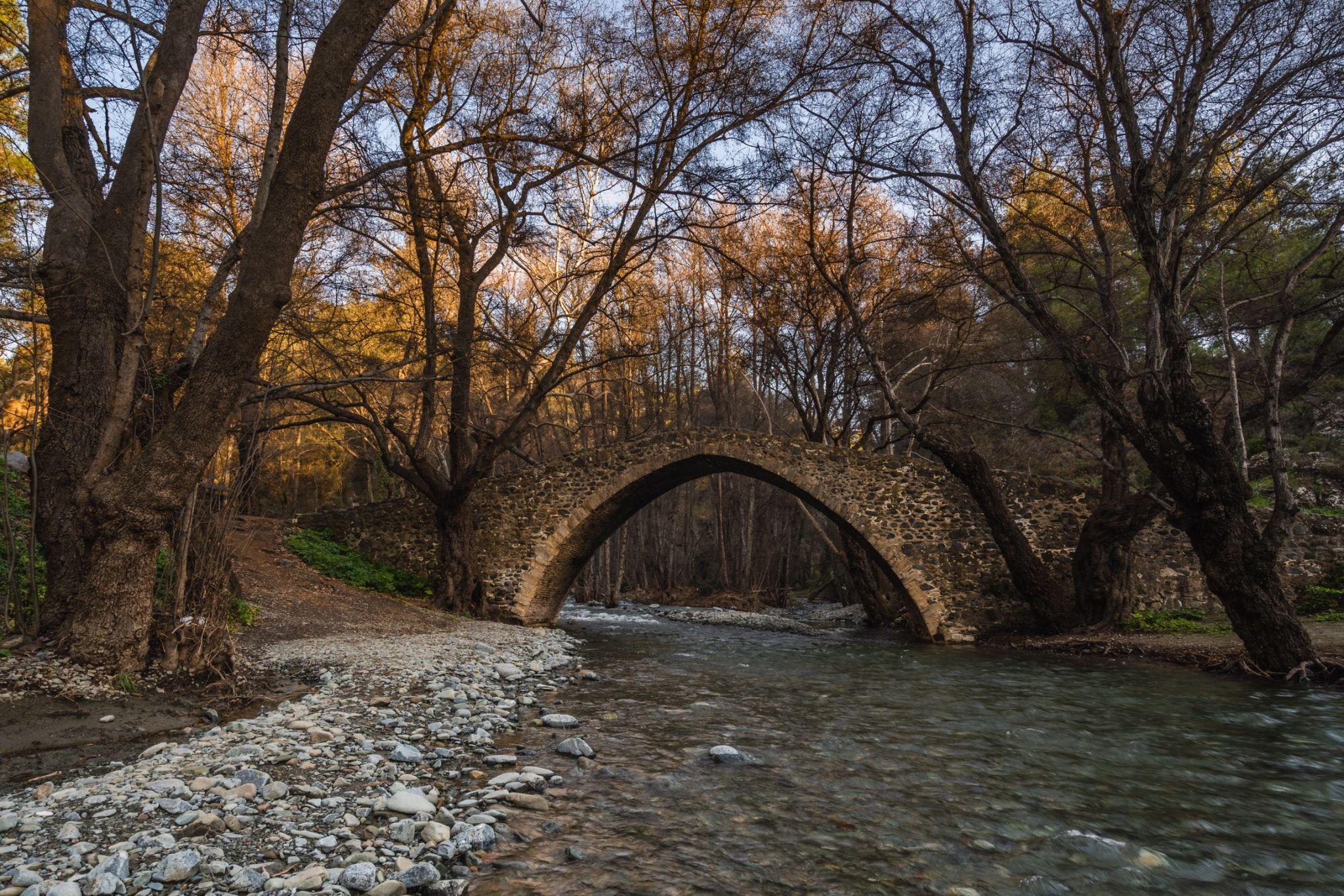 Tzelefos bridge, Cyprus