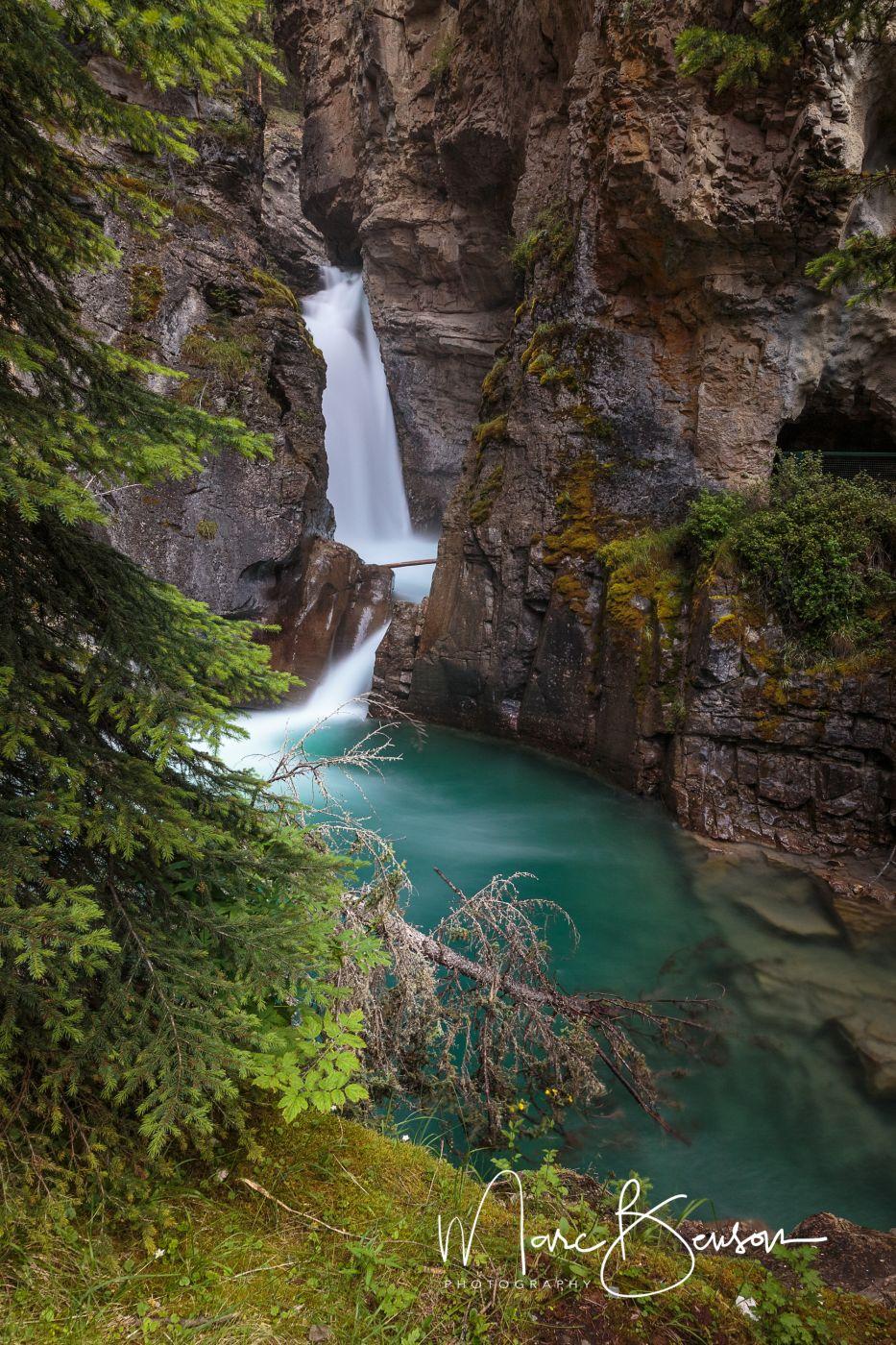 Lower Falls,  Johnston Canyon Trail, Canada