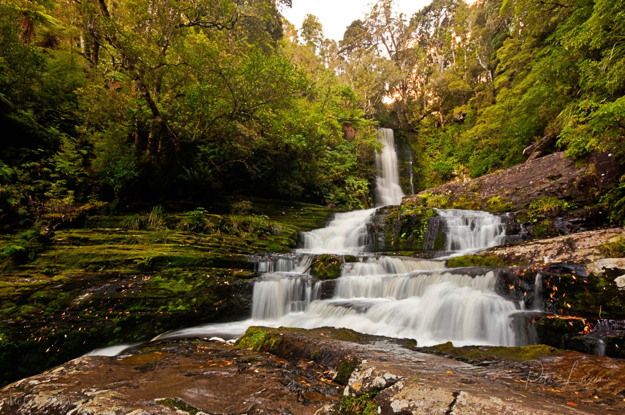 Mc Lean Falls, New Zealand