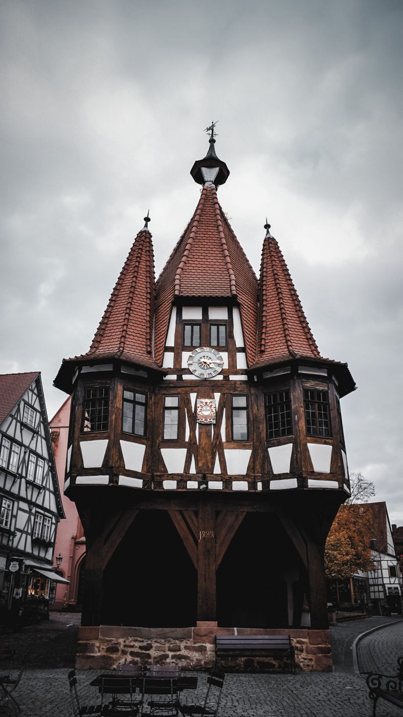Michelstadt Historical Townhall, Germany
