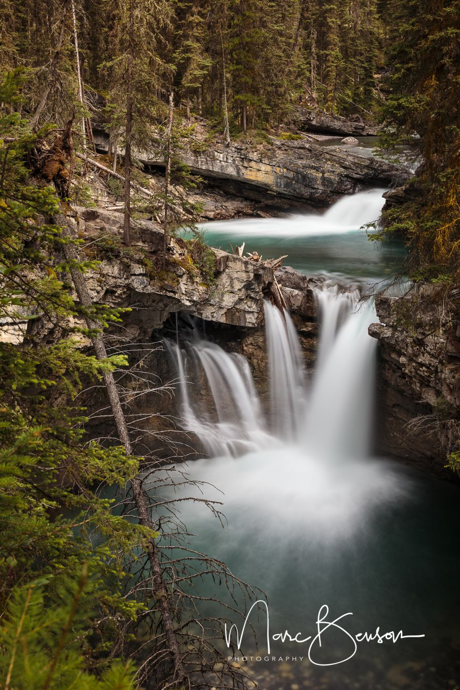 Middle Falls, Johnston Canyon Trail, Canada