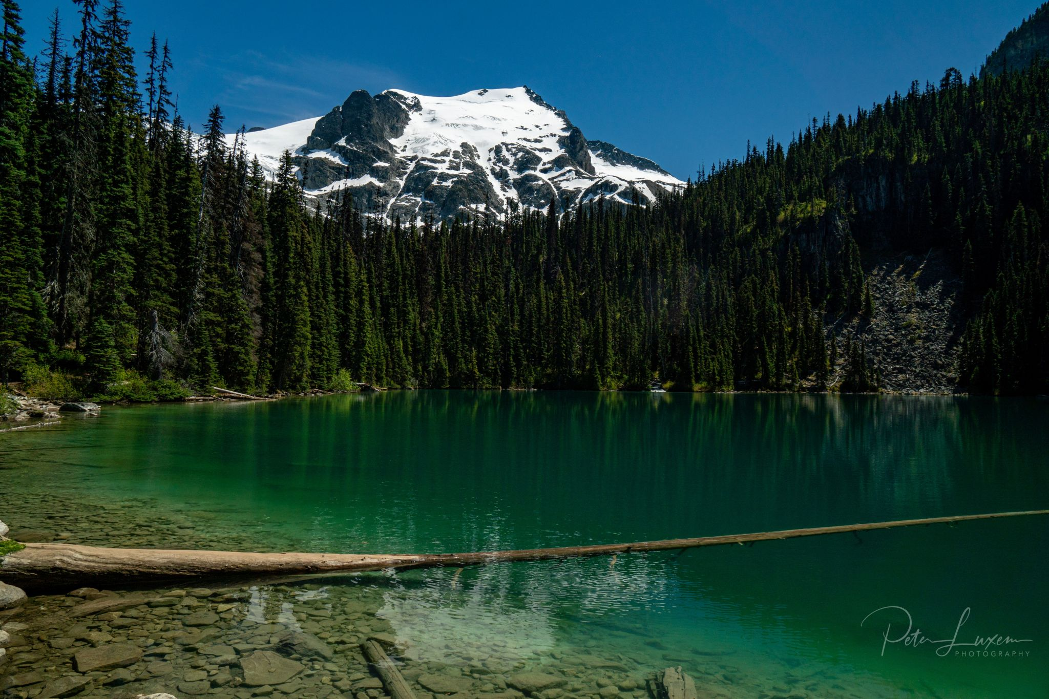 Middle Joffre lakes, Canada