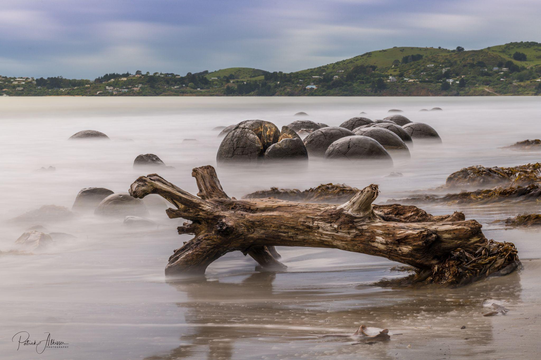 Moeraki Beach, New Zealand