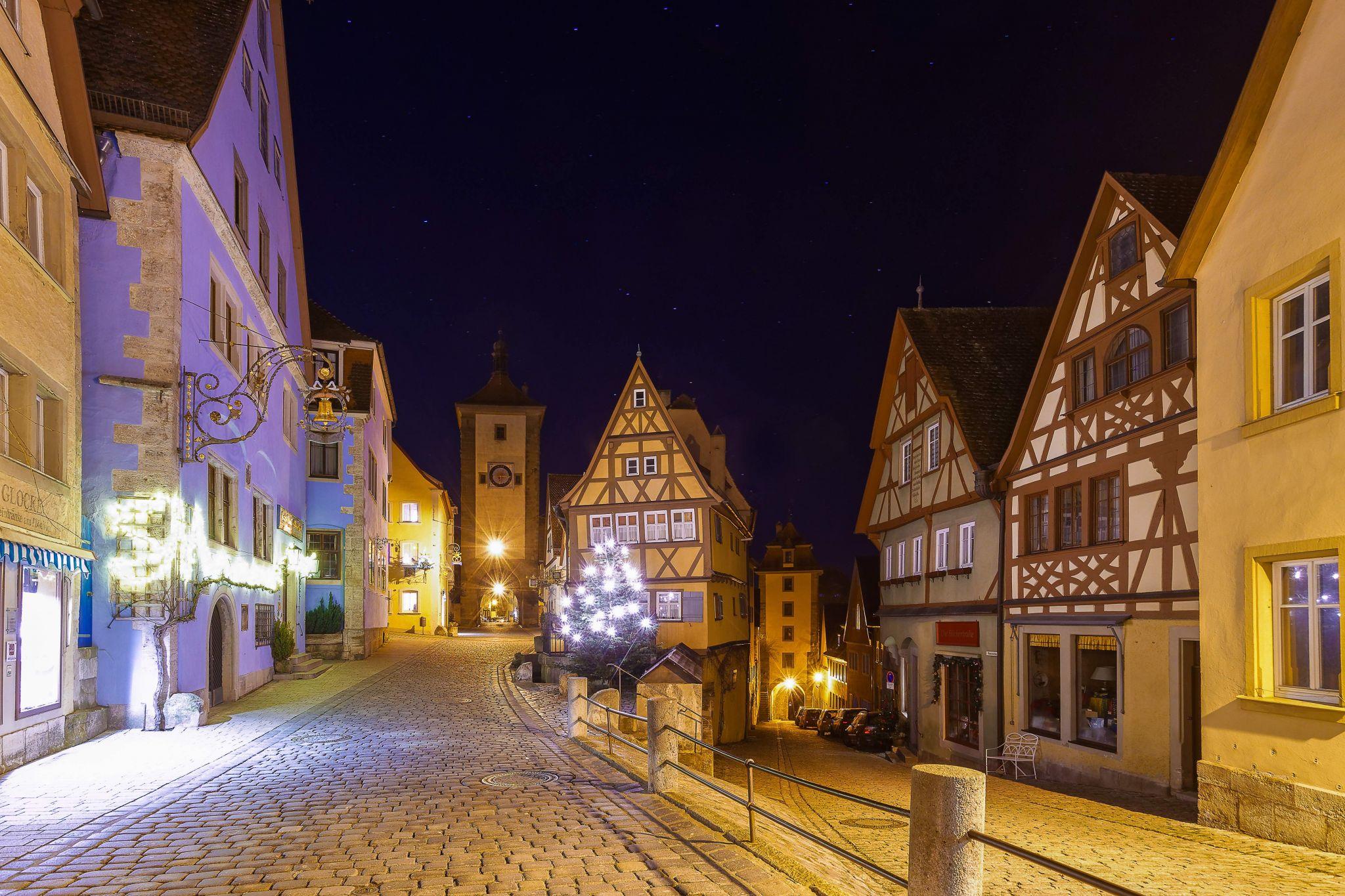 Old city gates Rothenburg ab de tuber, Germany