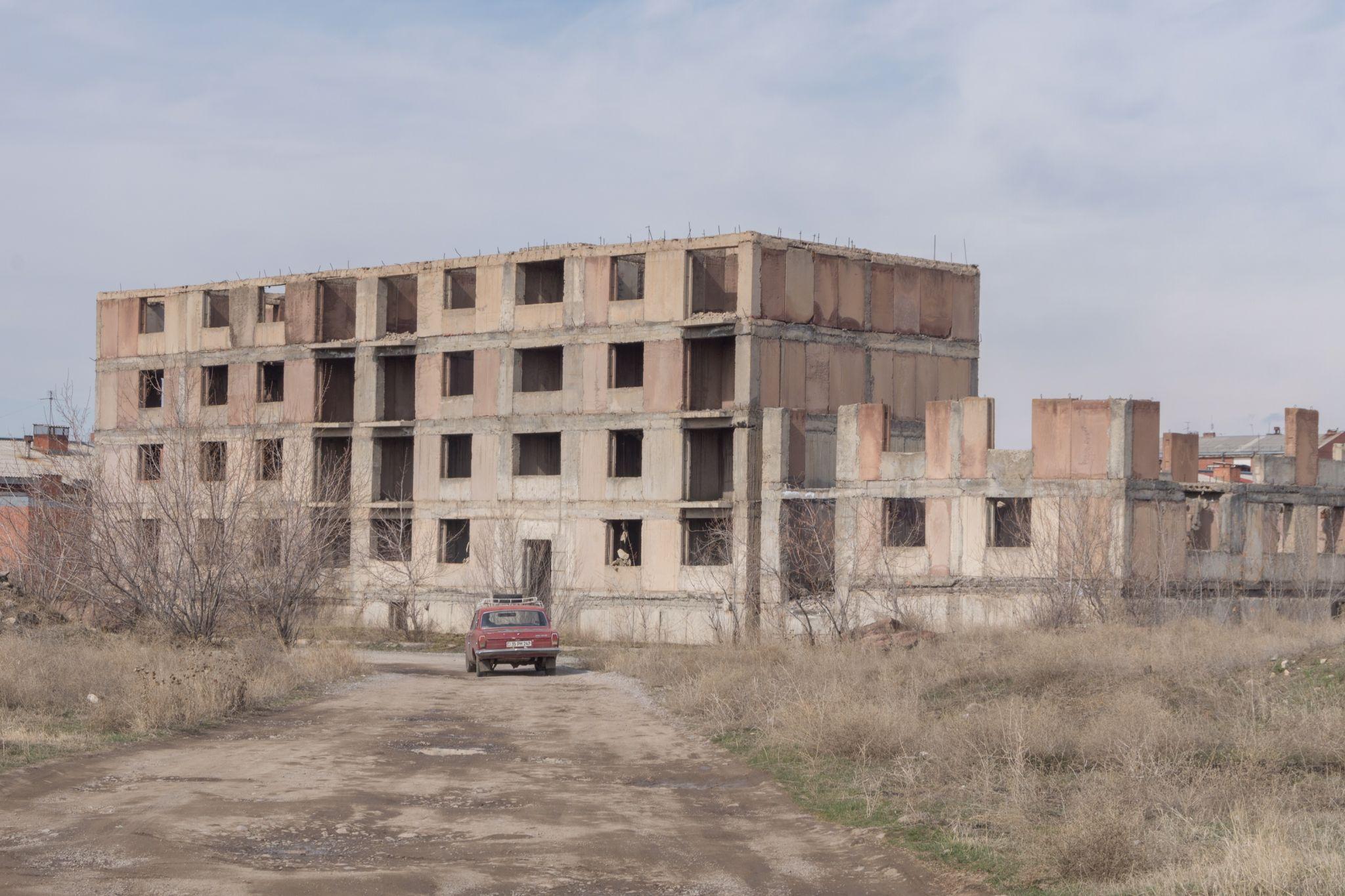 On the way home in Sheram II, Armenia