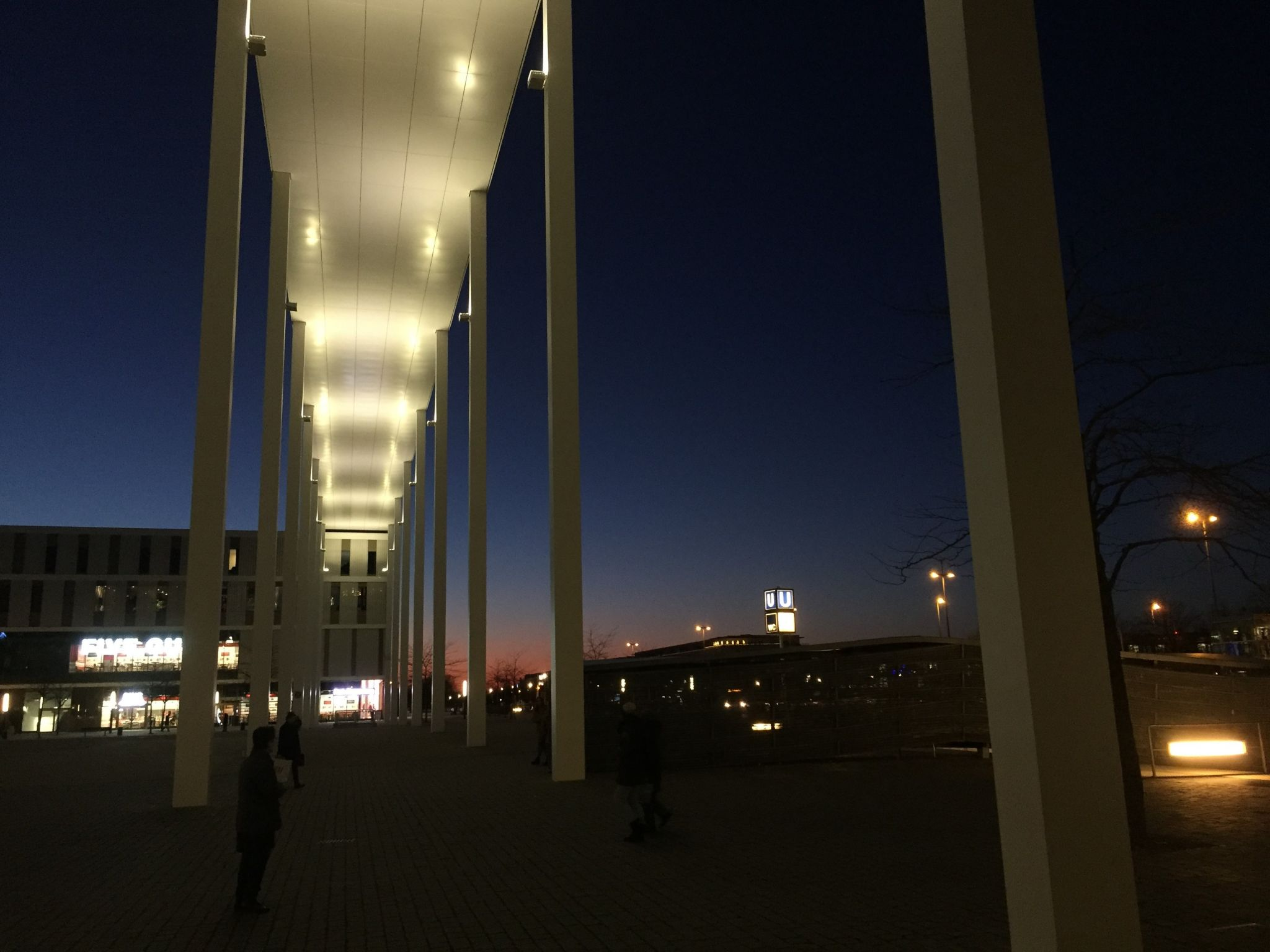 Portikus - Willy-Brandt Platz, München, Germany