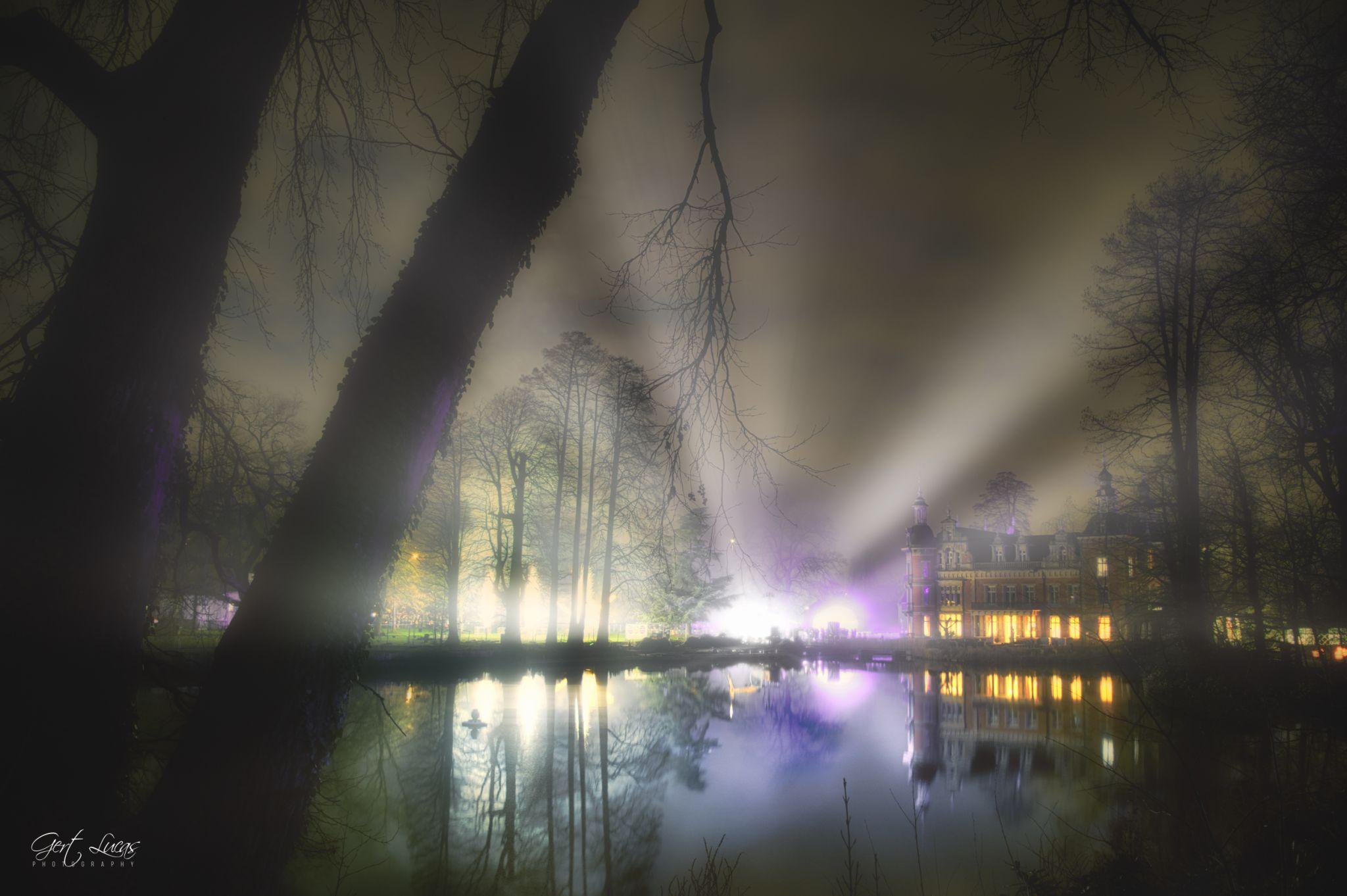 Provincial gardens Huizingen, Belgium