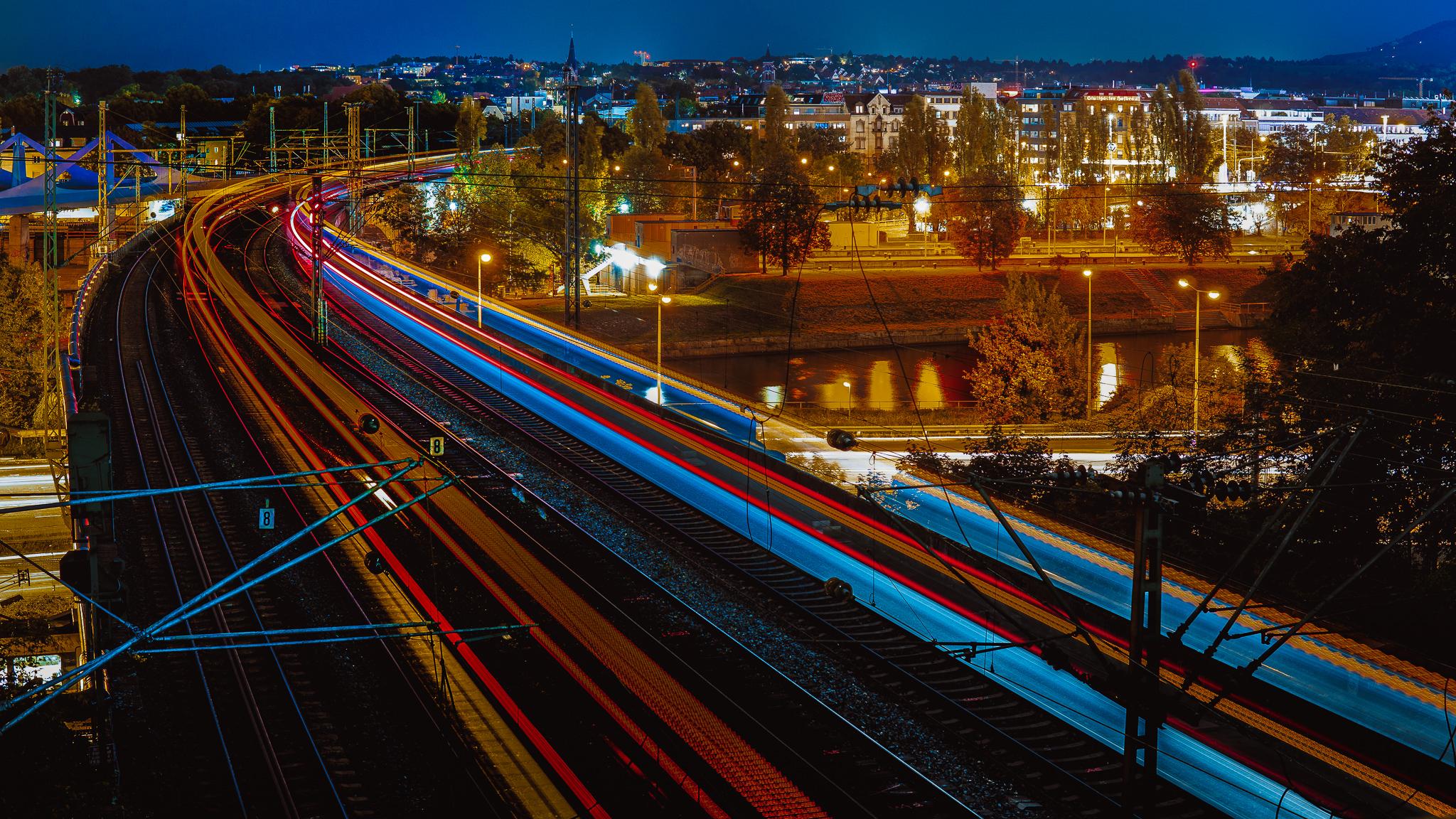 Rosensteinpark Trainspotting, Germany