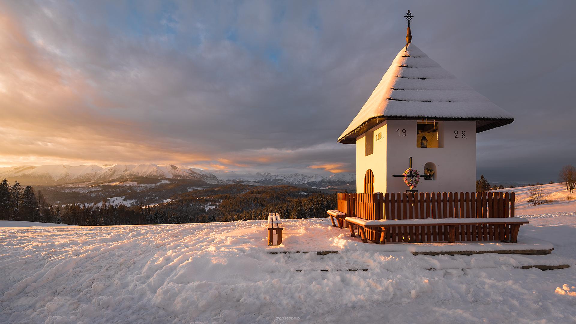 Shrine with a view of Tatras, Poland