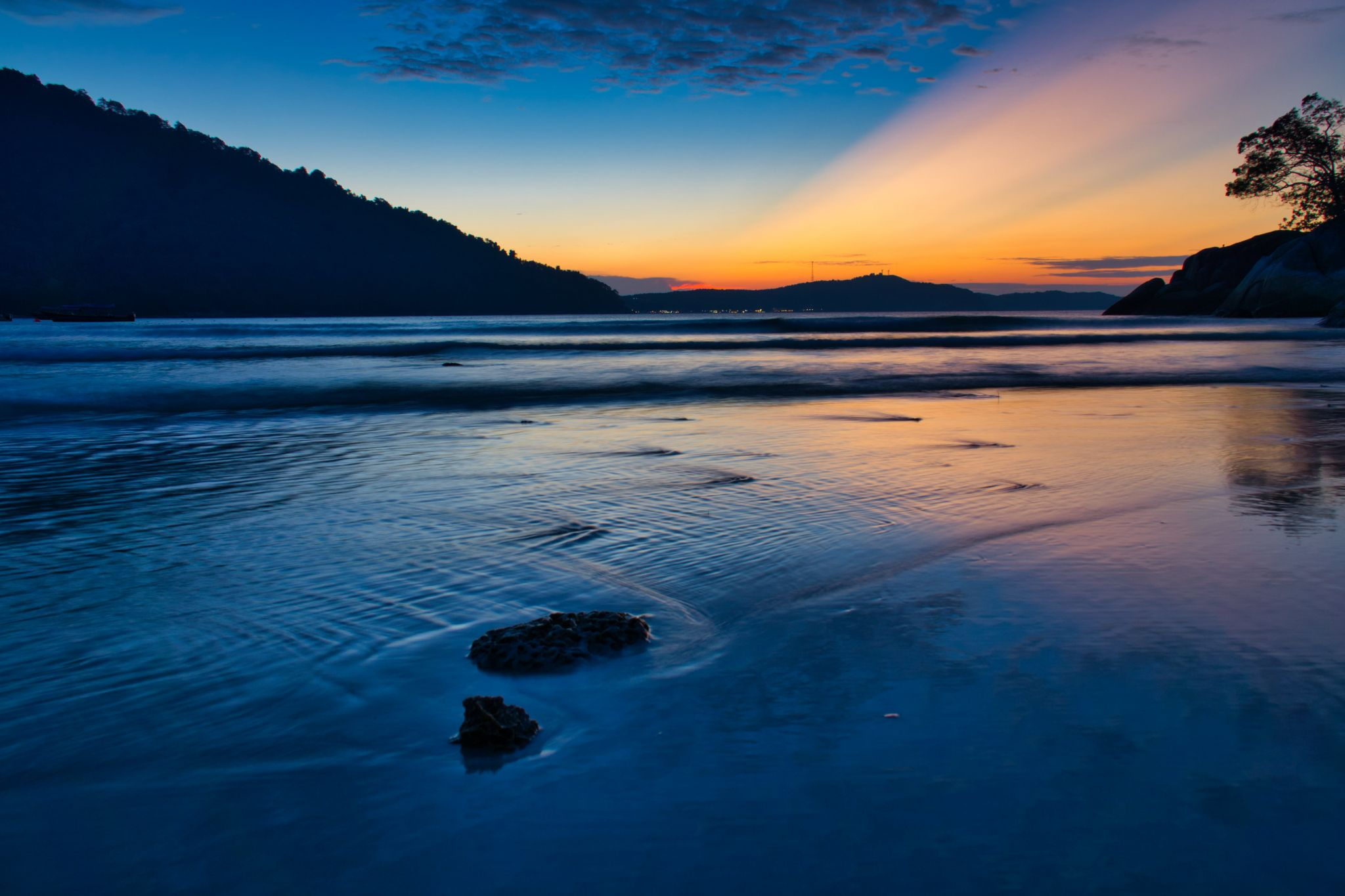 Sunset at Perhentian Islands, Malaysia