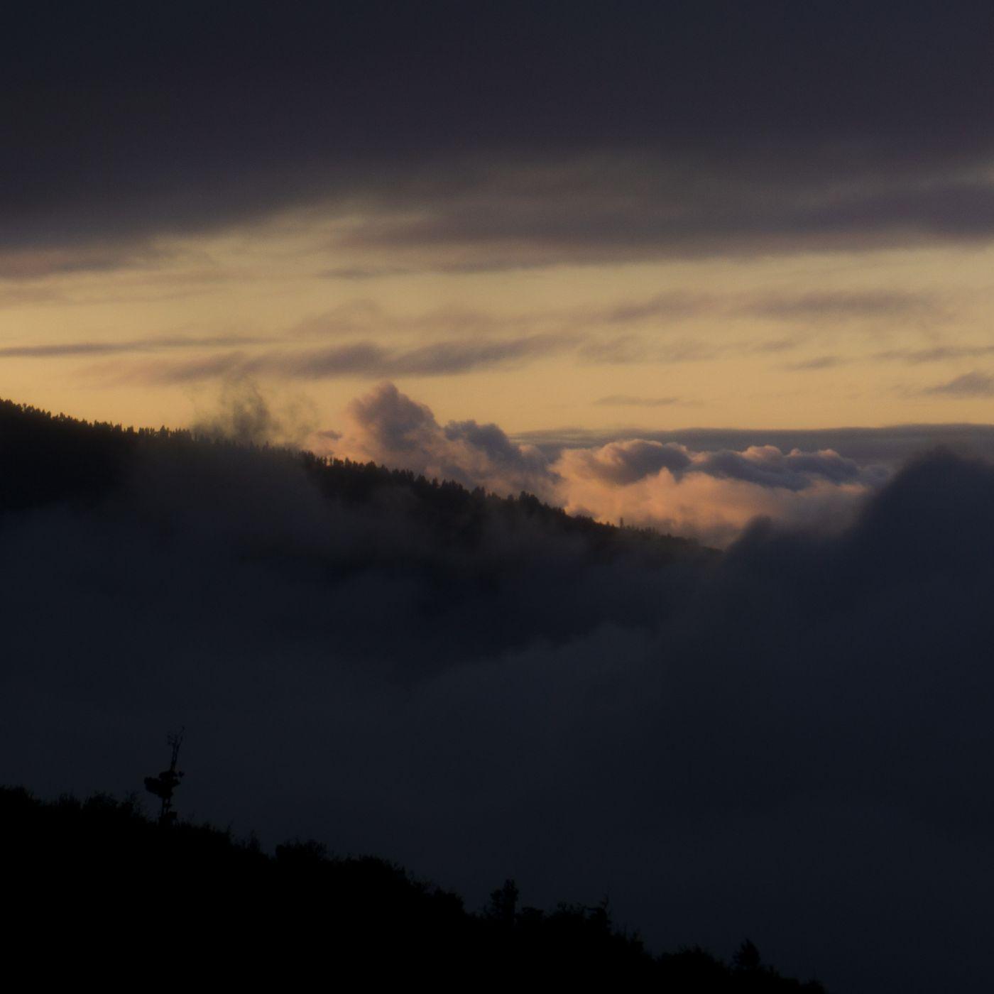 Sweet Clouds at 'El Teide', Spain