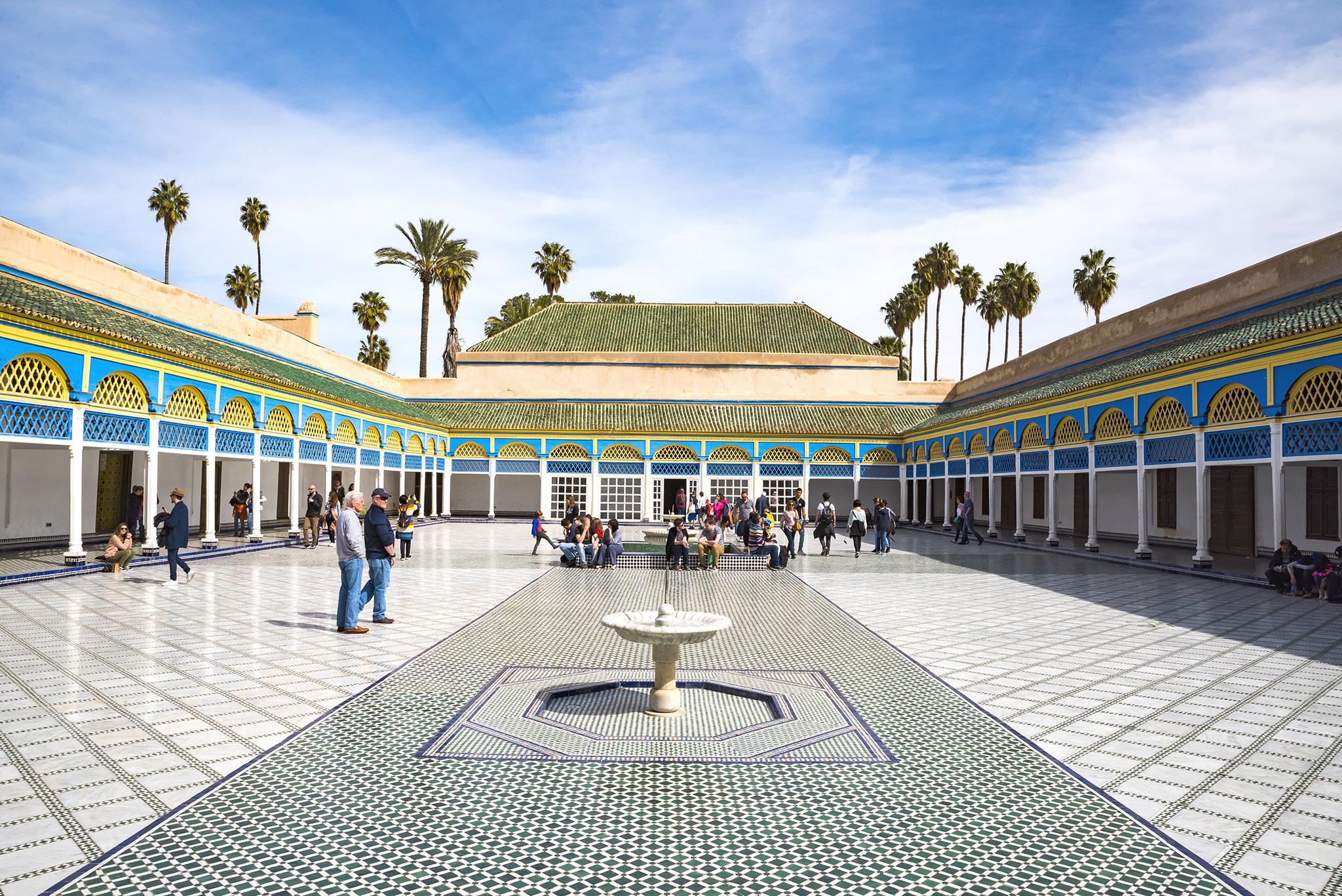 The Bahia Palace, Morocco