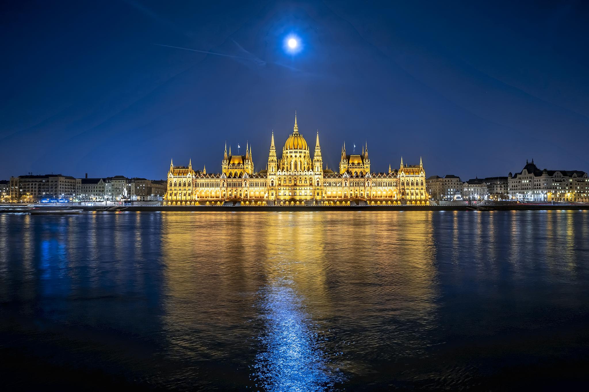 The Hungarian Parliament building, Hungary