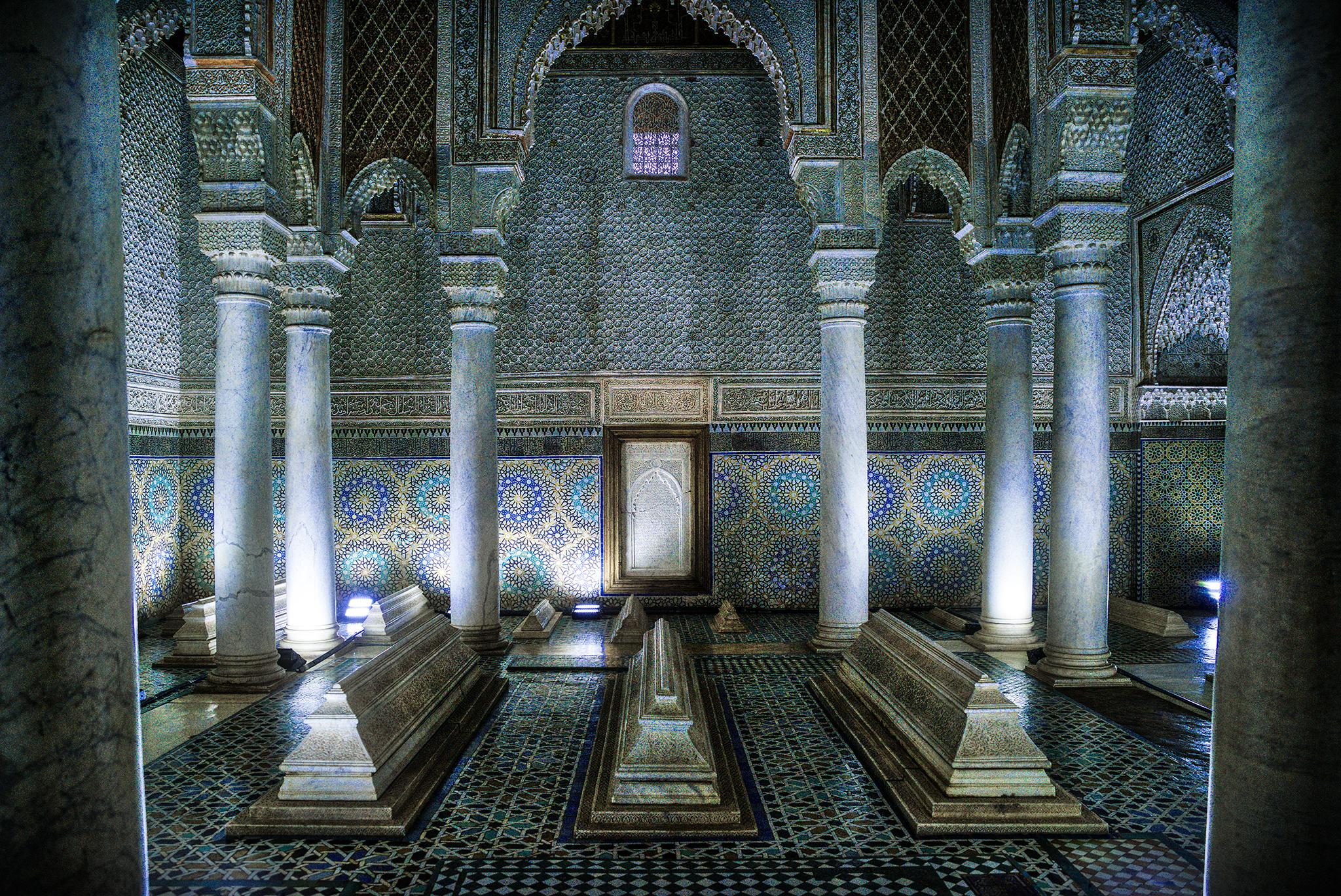 The Saadian tombs, Morocco