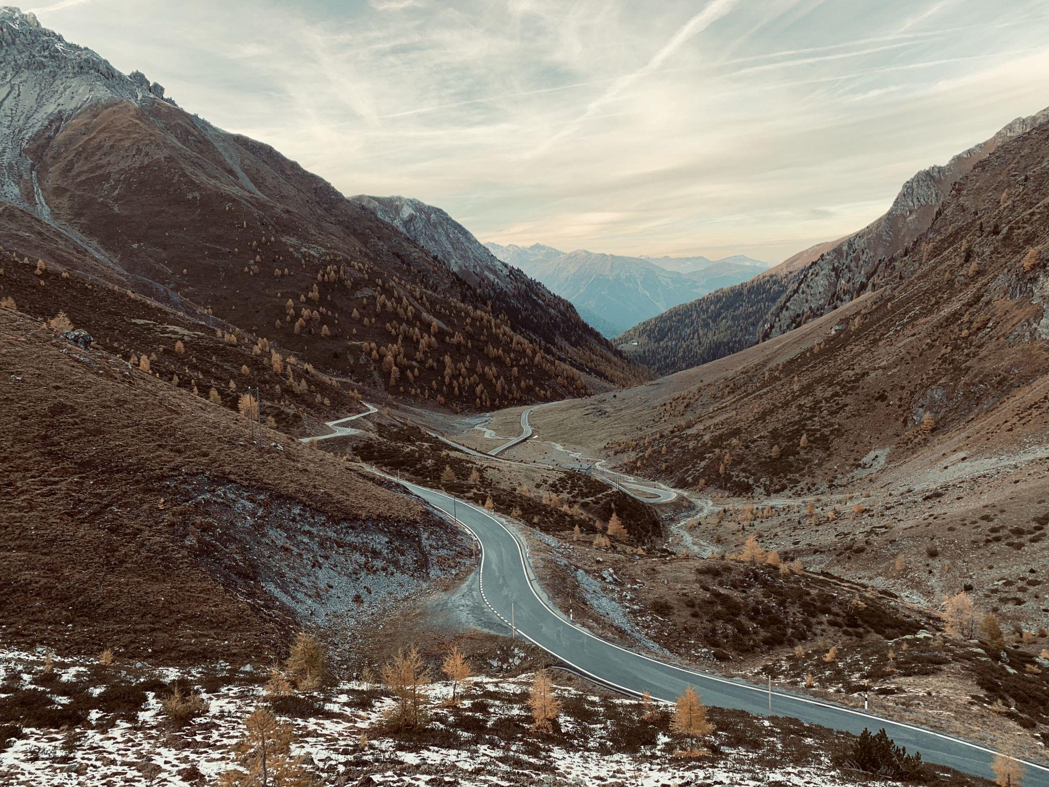 Umbrail pass, Switzerland