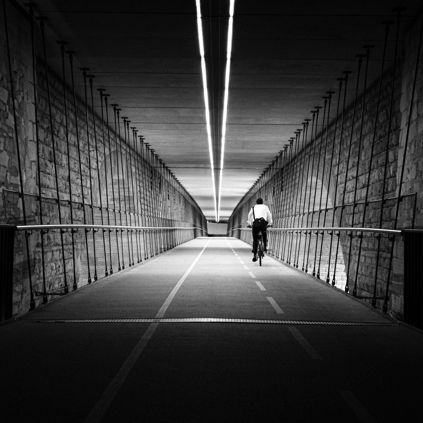 Under the Adolphe Bridge, Luxembourg