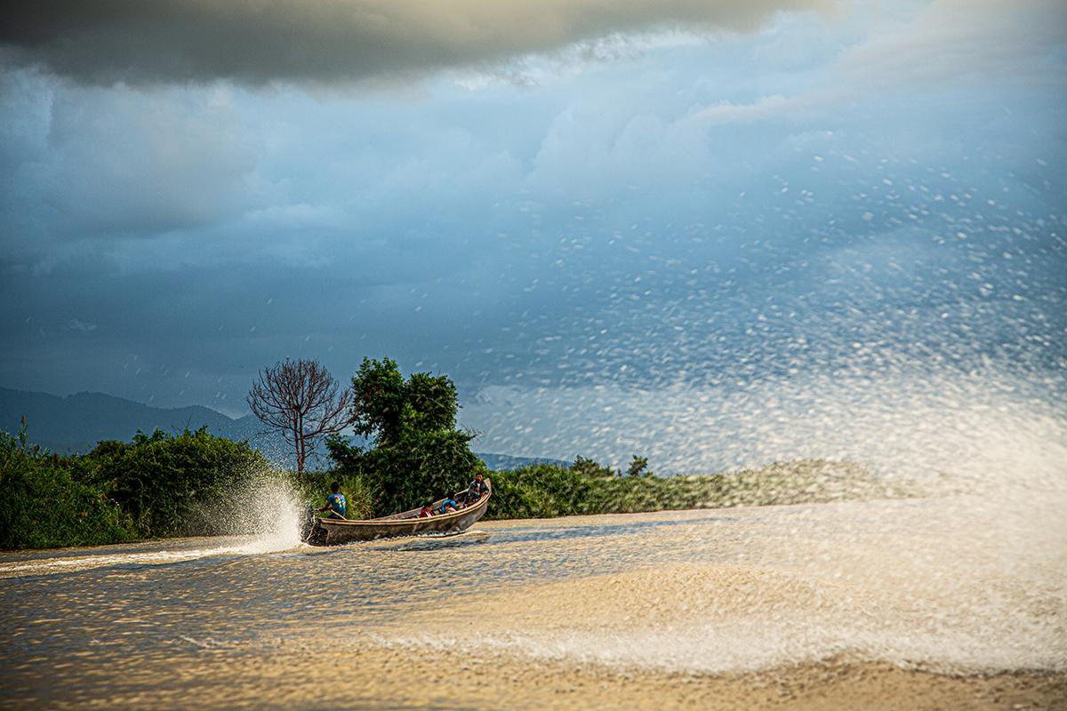 Vor dem großen Regen, Myanmar