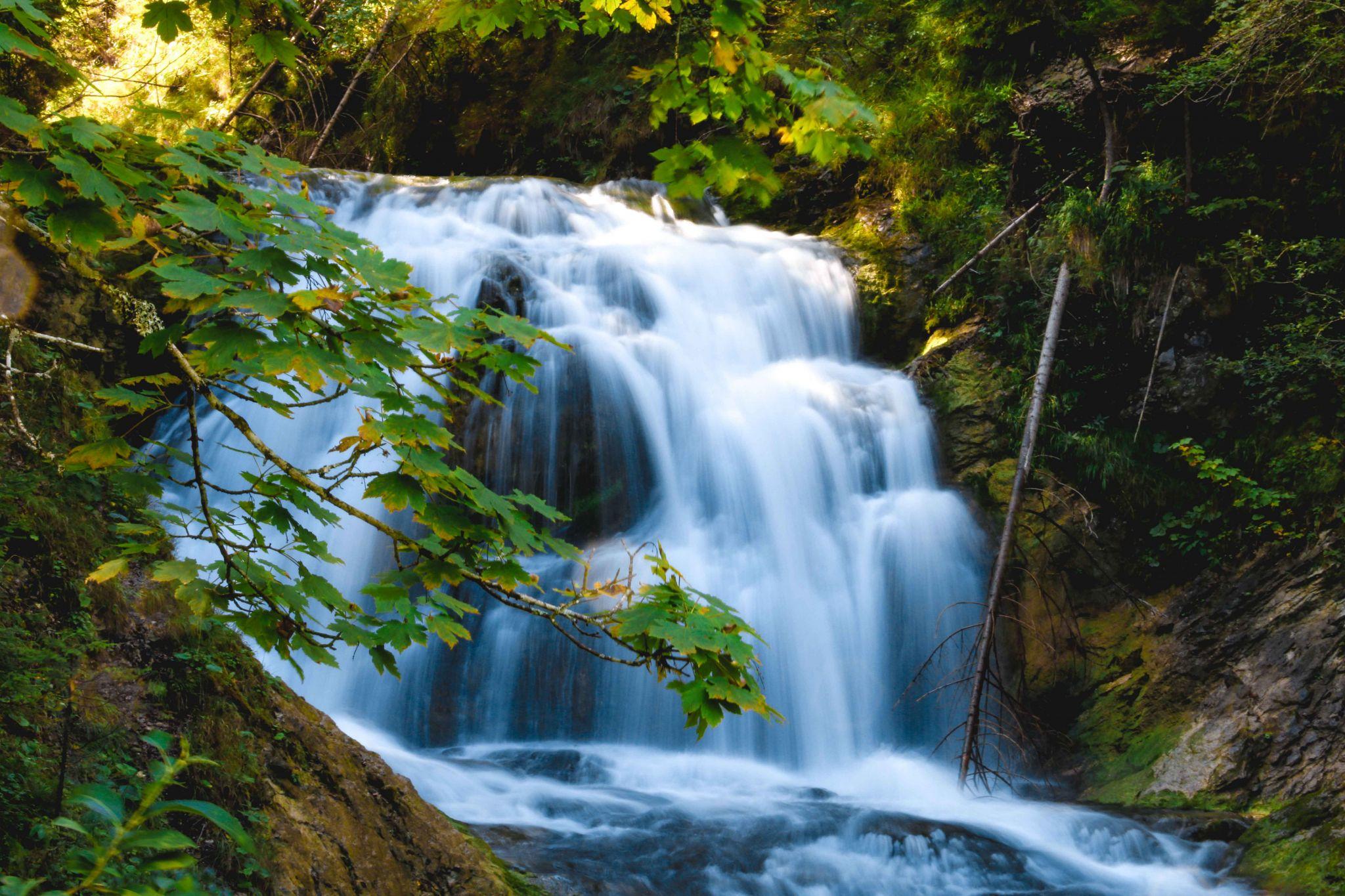 Wasserfall Obernachkanal, Germany