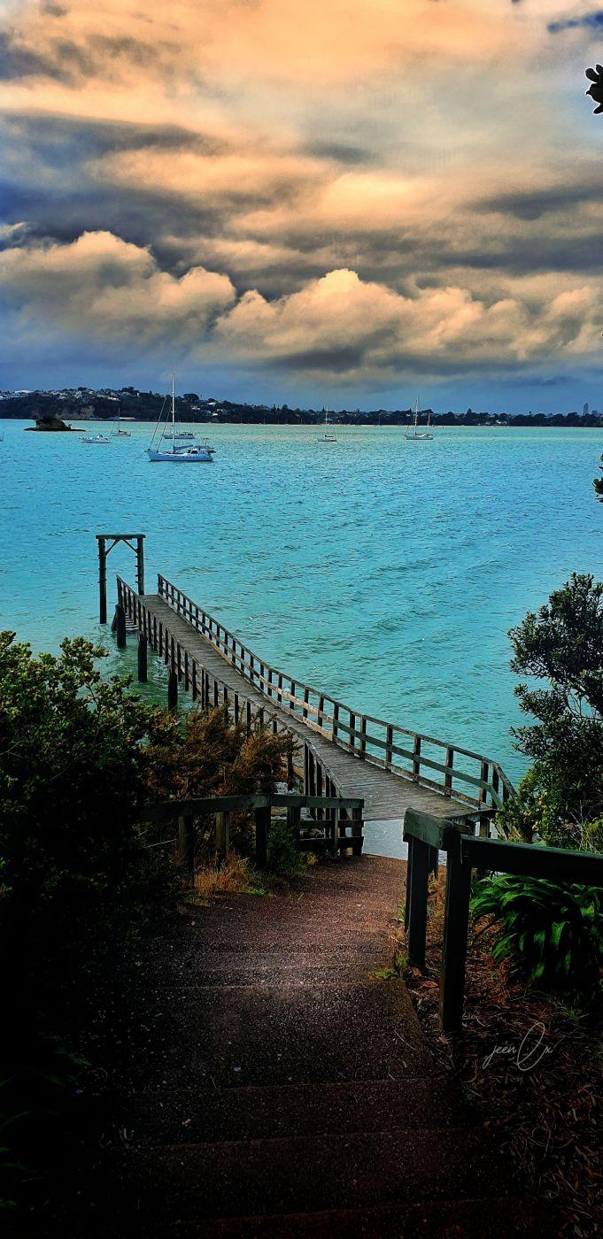 Wharf, New Zealand