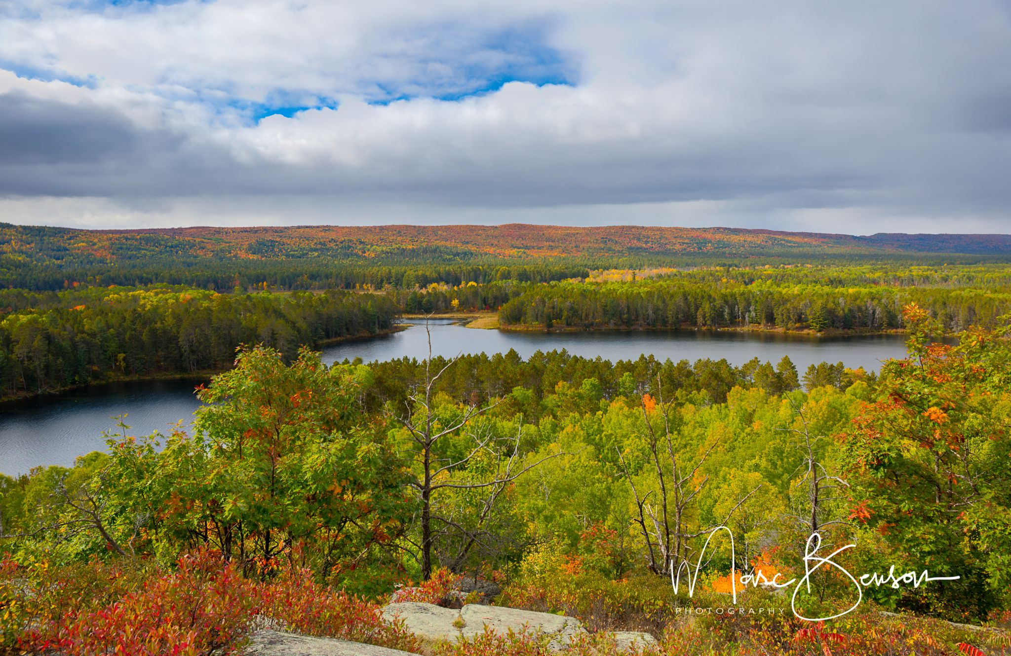 Whispering Pines Lookout on Egg Rock, Canada