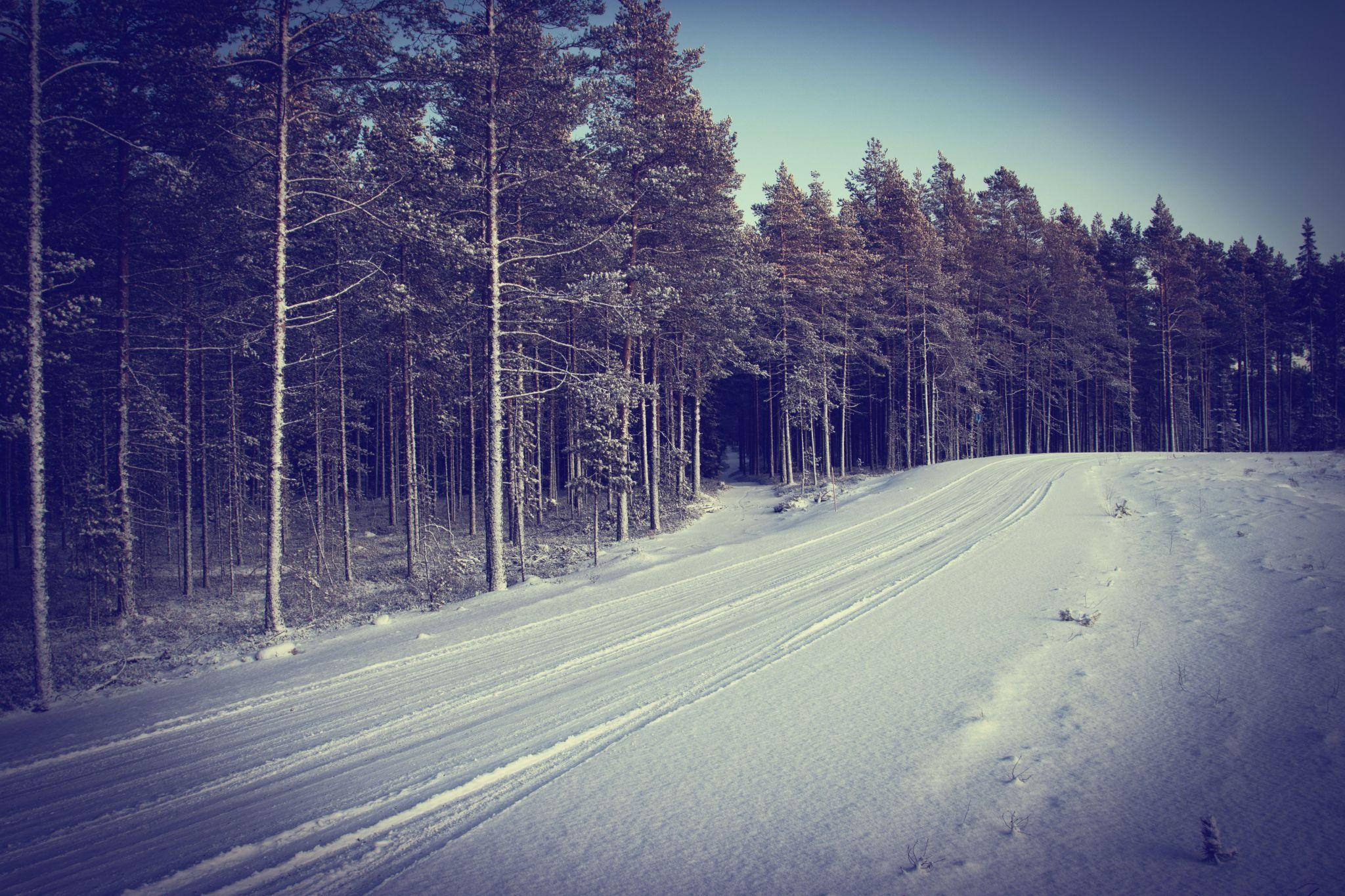 Winter in Oulu, Finland