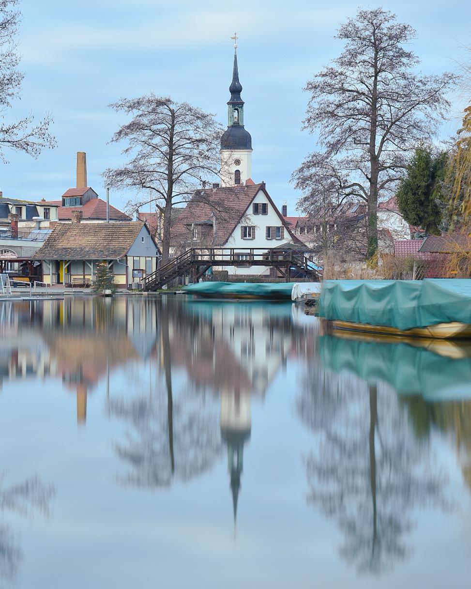 Winter reflection, Germany