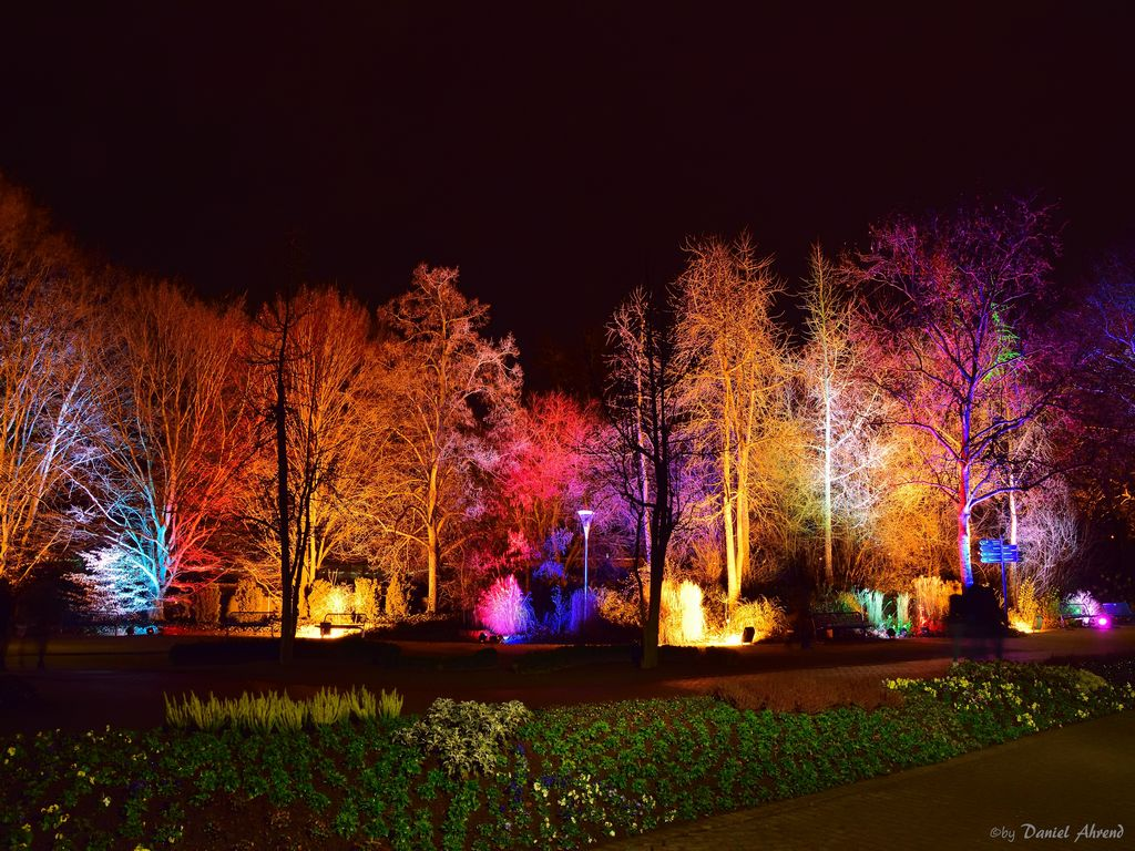 Winterlichter im Luisenpark, Germany