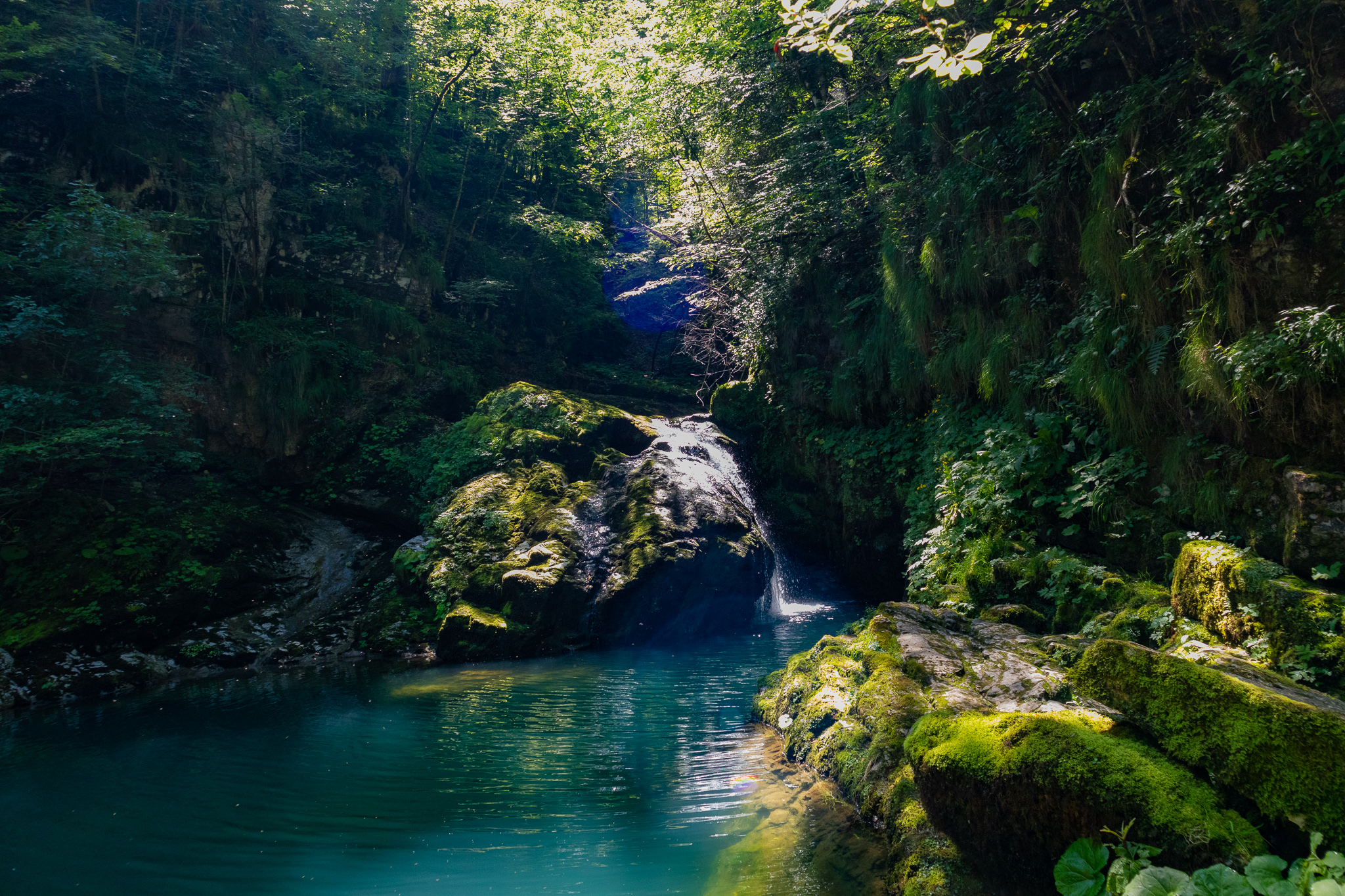 Zeleni Vir waterfall, Croatia