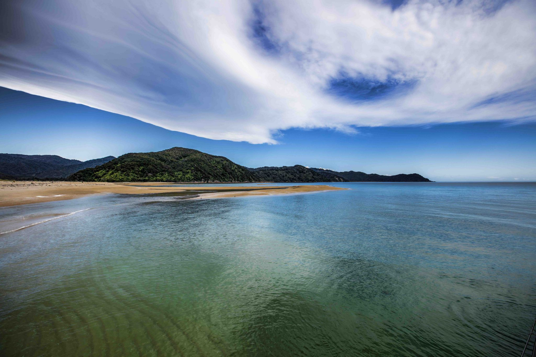 Awaroa Bay, New Zealand