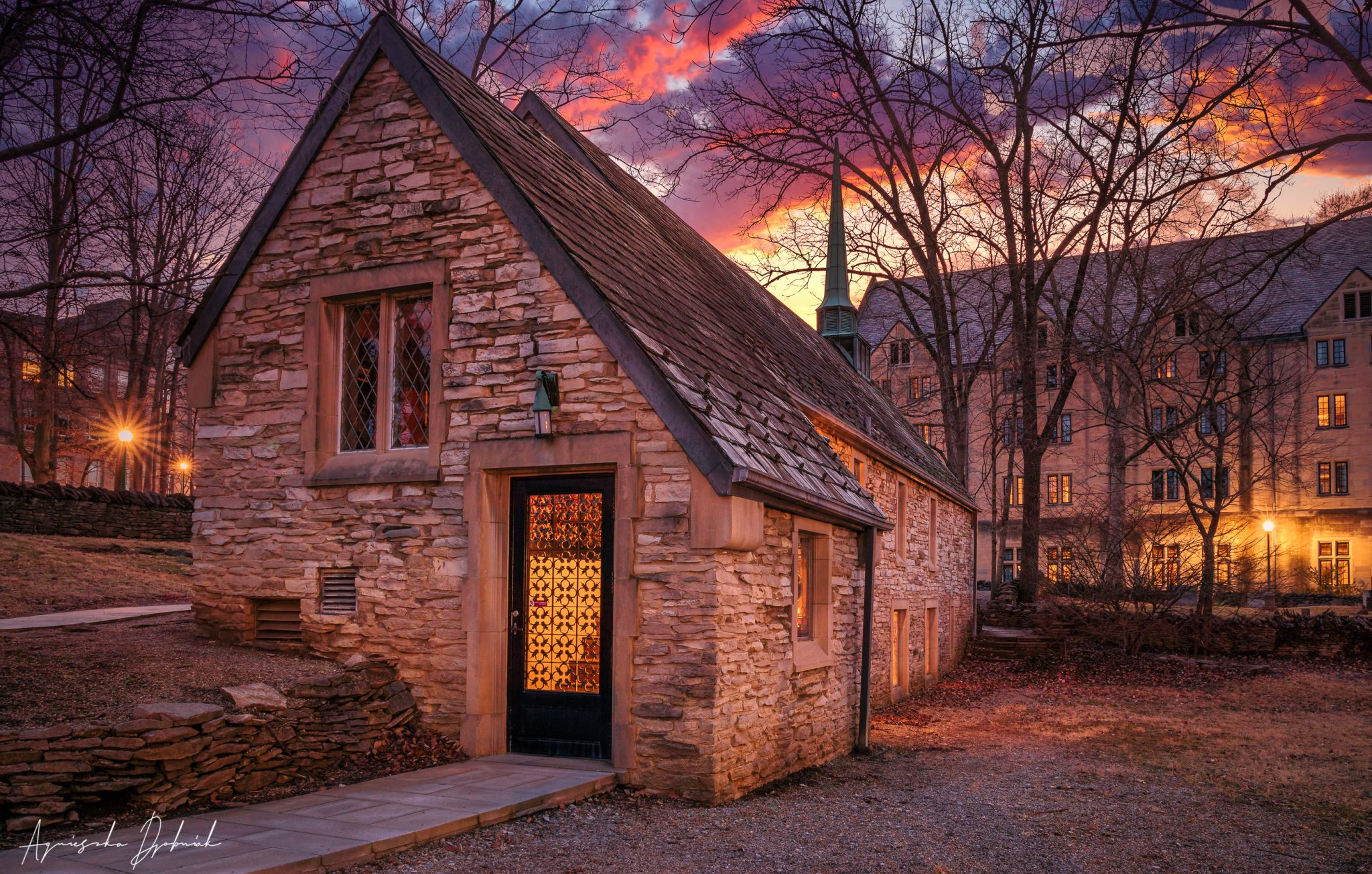 Beck Chapel at Indiana University Bloomington, USA