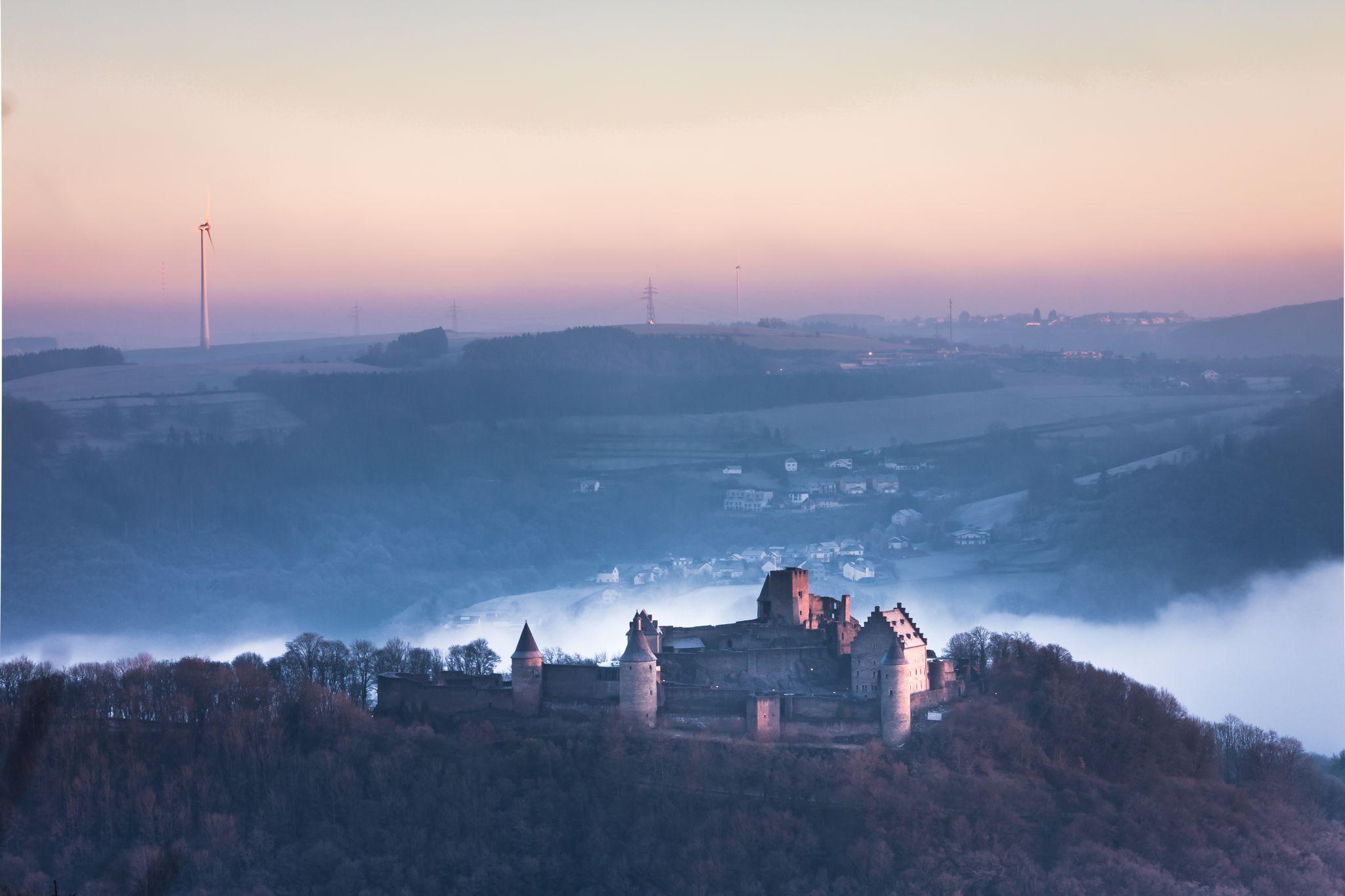 Bourscheid Château, Luxembourg