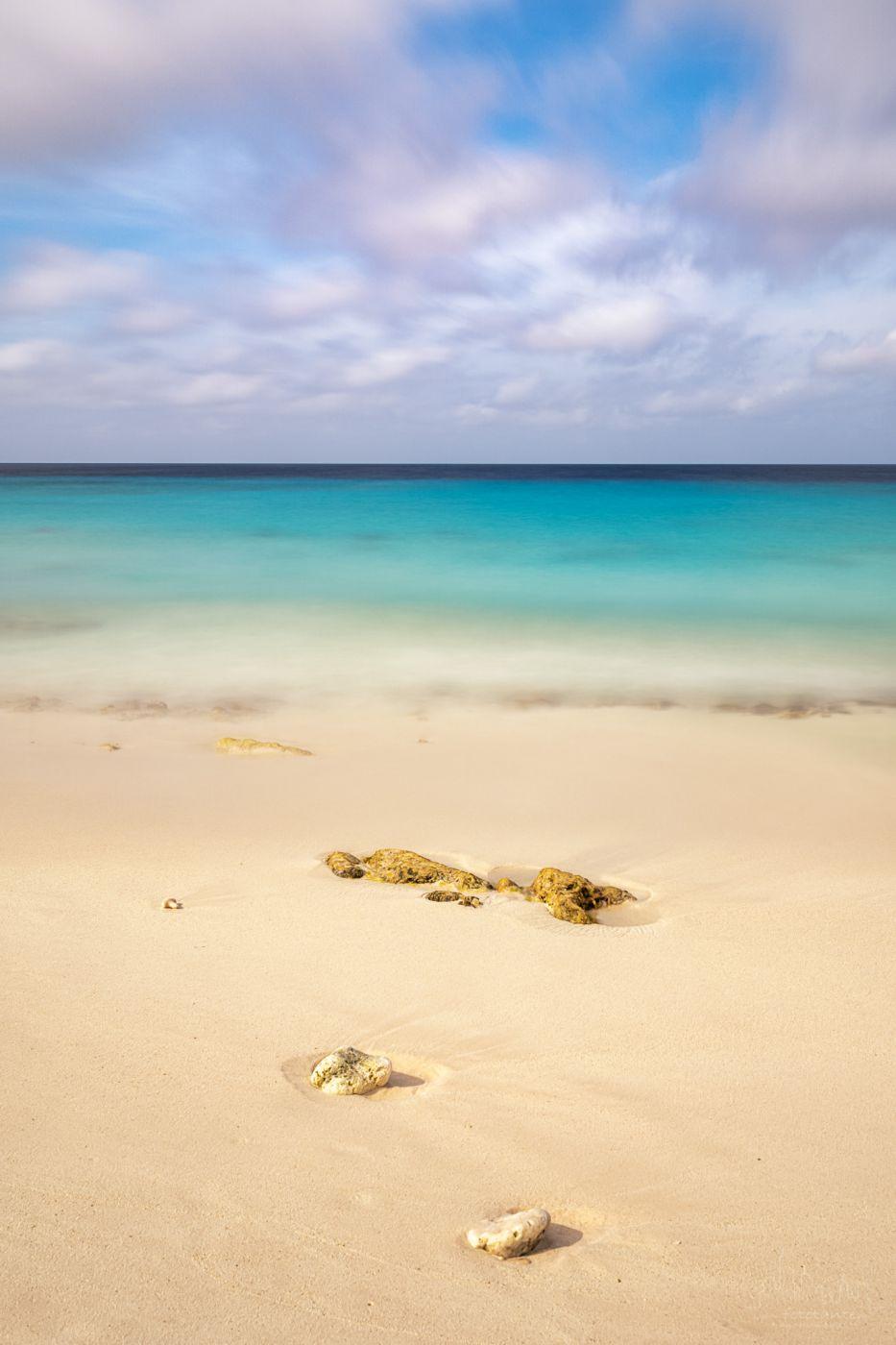 Caribbean colors on Bonaire, Bonaire