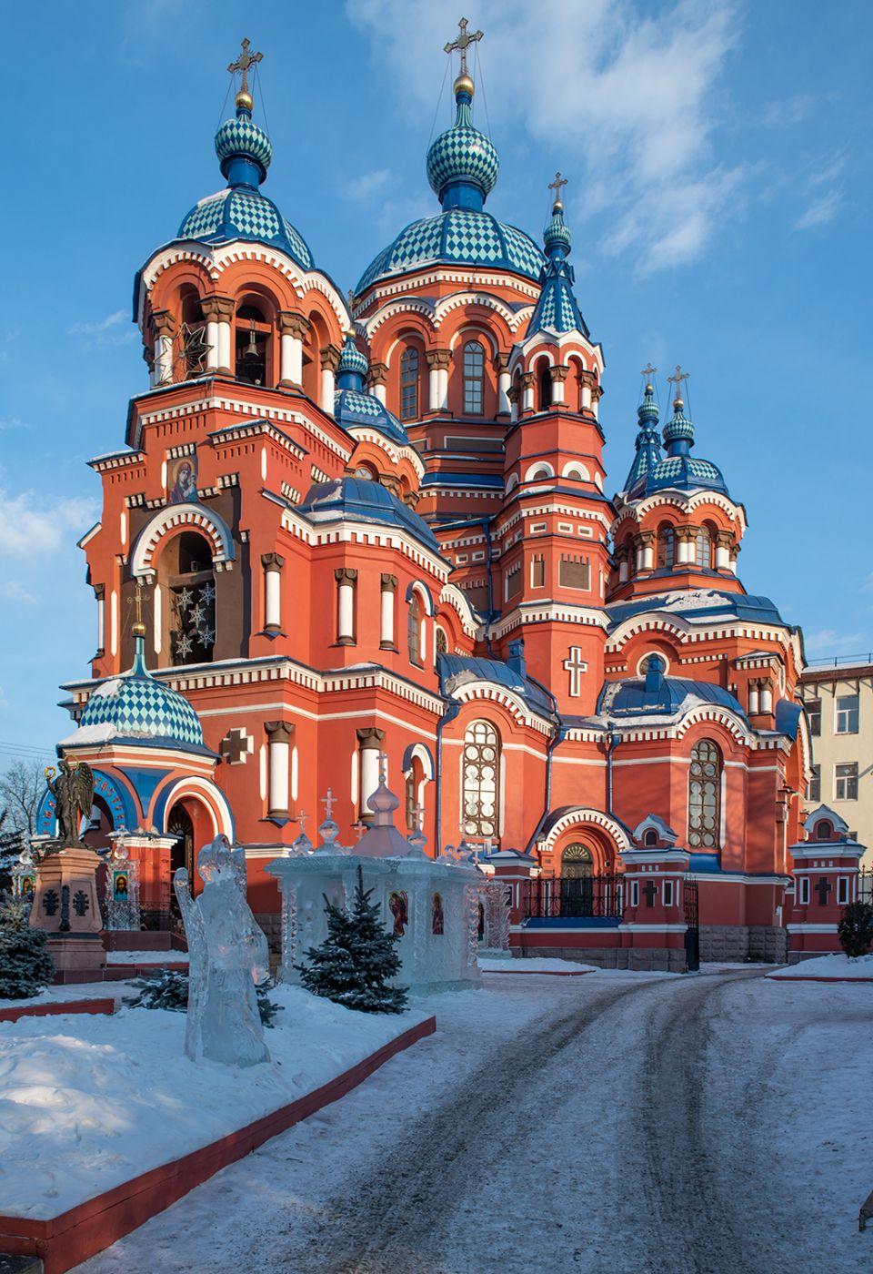 Cathedral Irkutzk Kazan, Russian Federation
