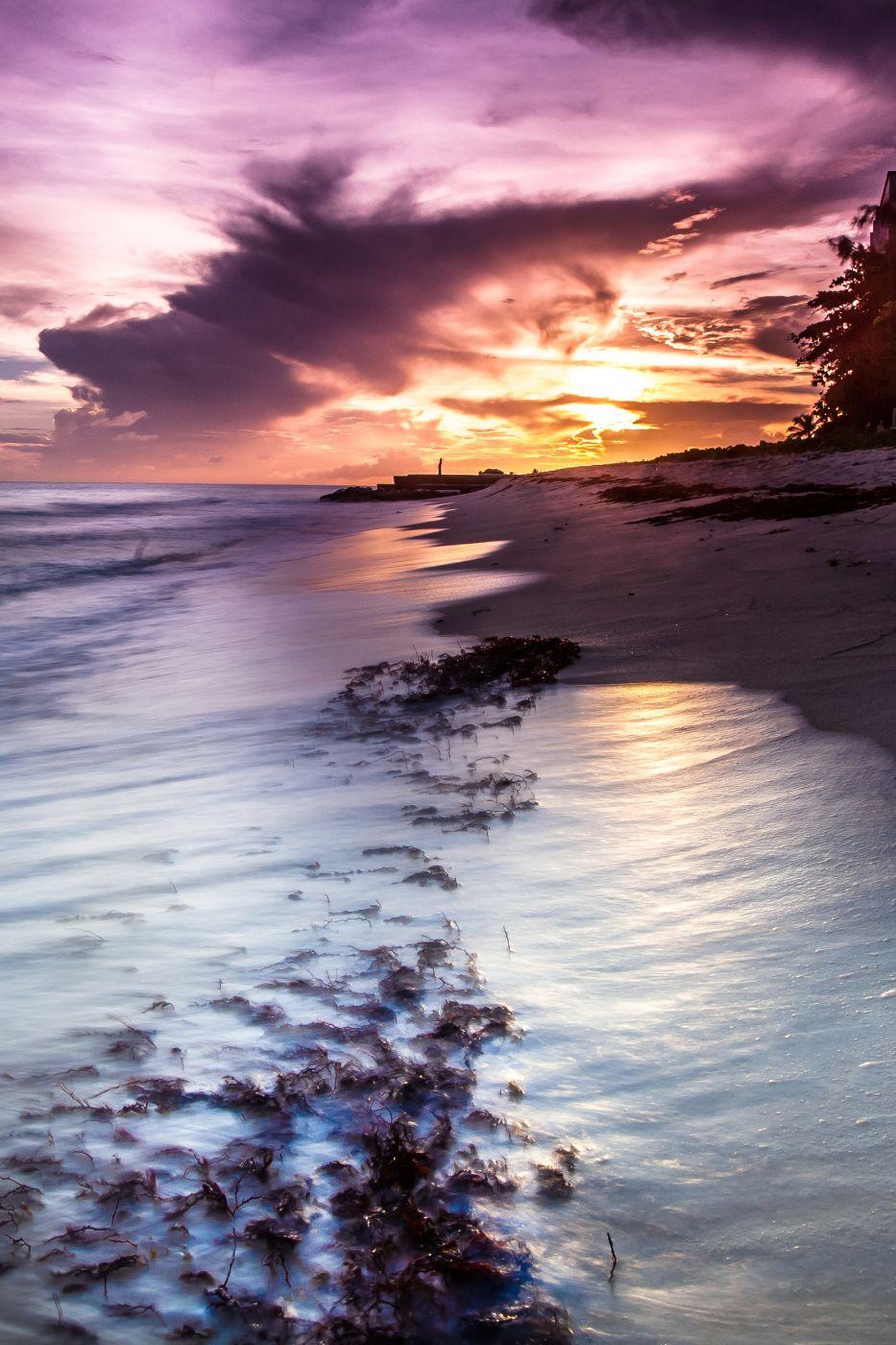 Christcurch sunset Barbados, Barbados