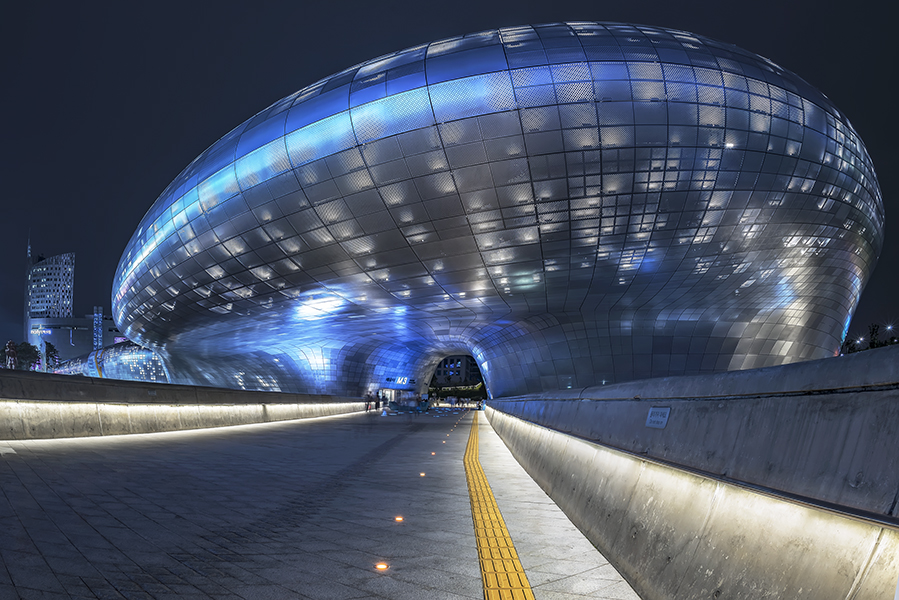 Dongdaemun Design Plaza, Korea