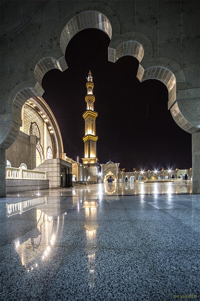 Federal Territory mosque, Malaysia