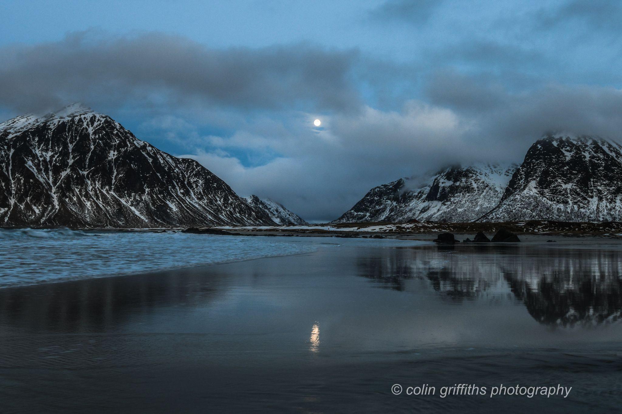 Flakstad beach, Norway