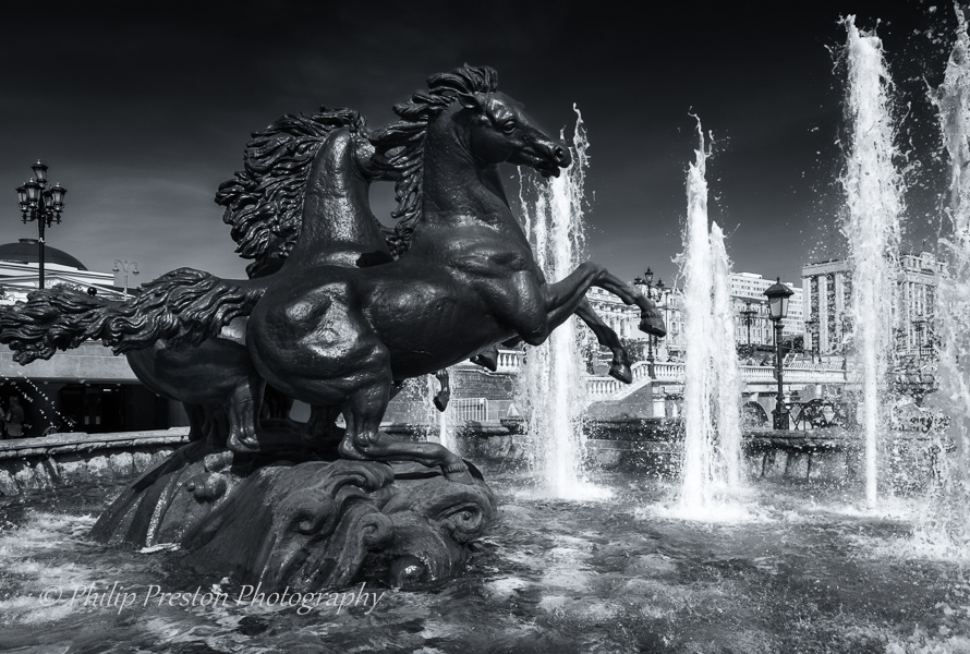 Four Seasons Fountain, Moscow, Russian Federation