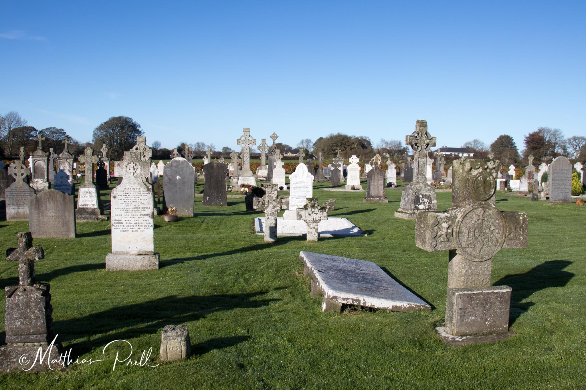 Friedhof in Hollywood, Ireland