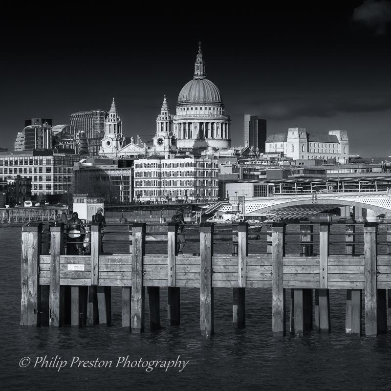 Gabriels Wharf, River Thames, London, United Kingdom