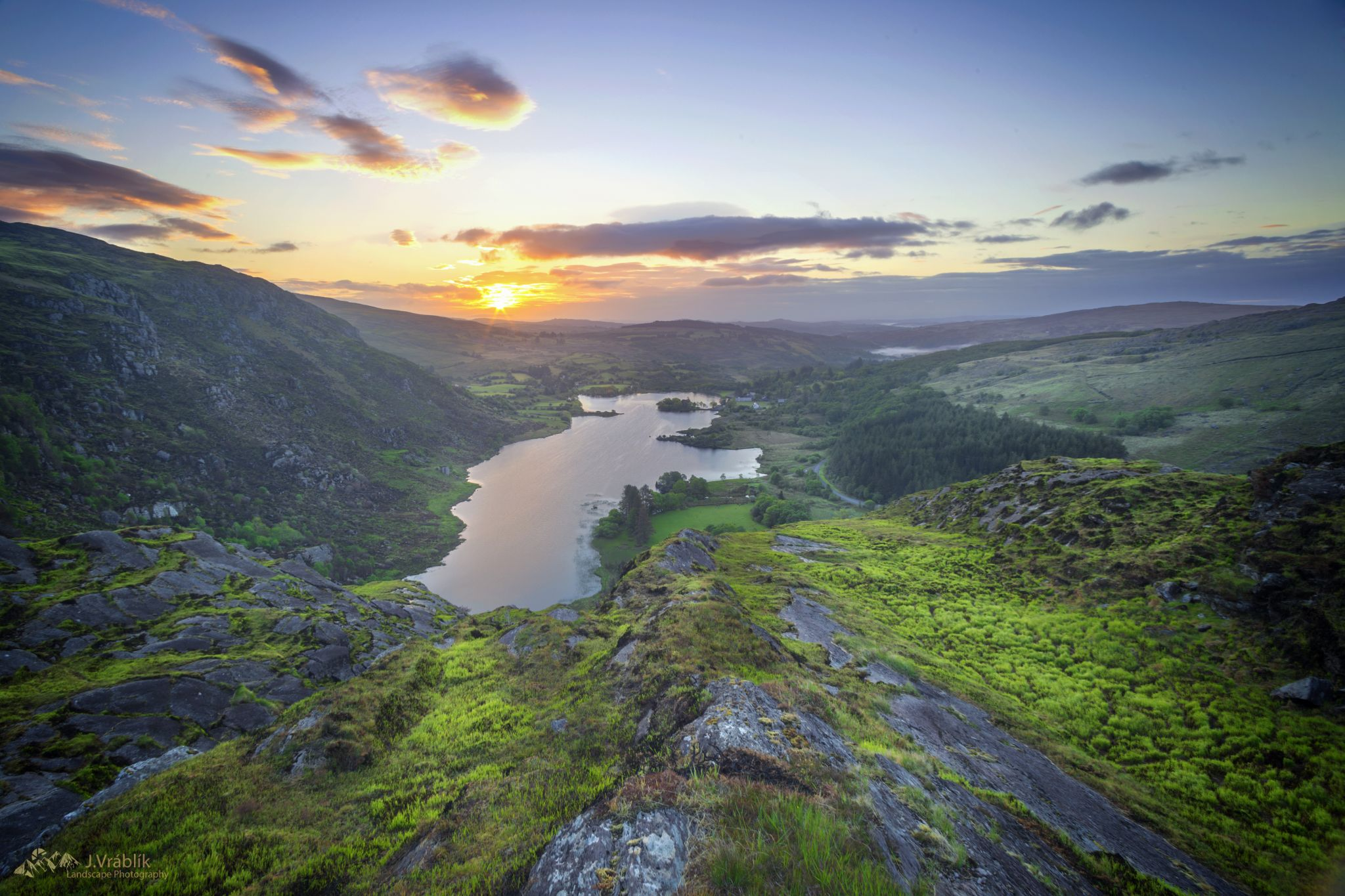 Gougane Barra viewpoint, Ireland