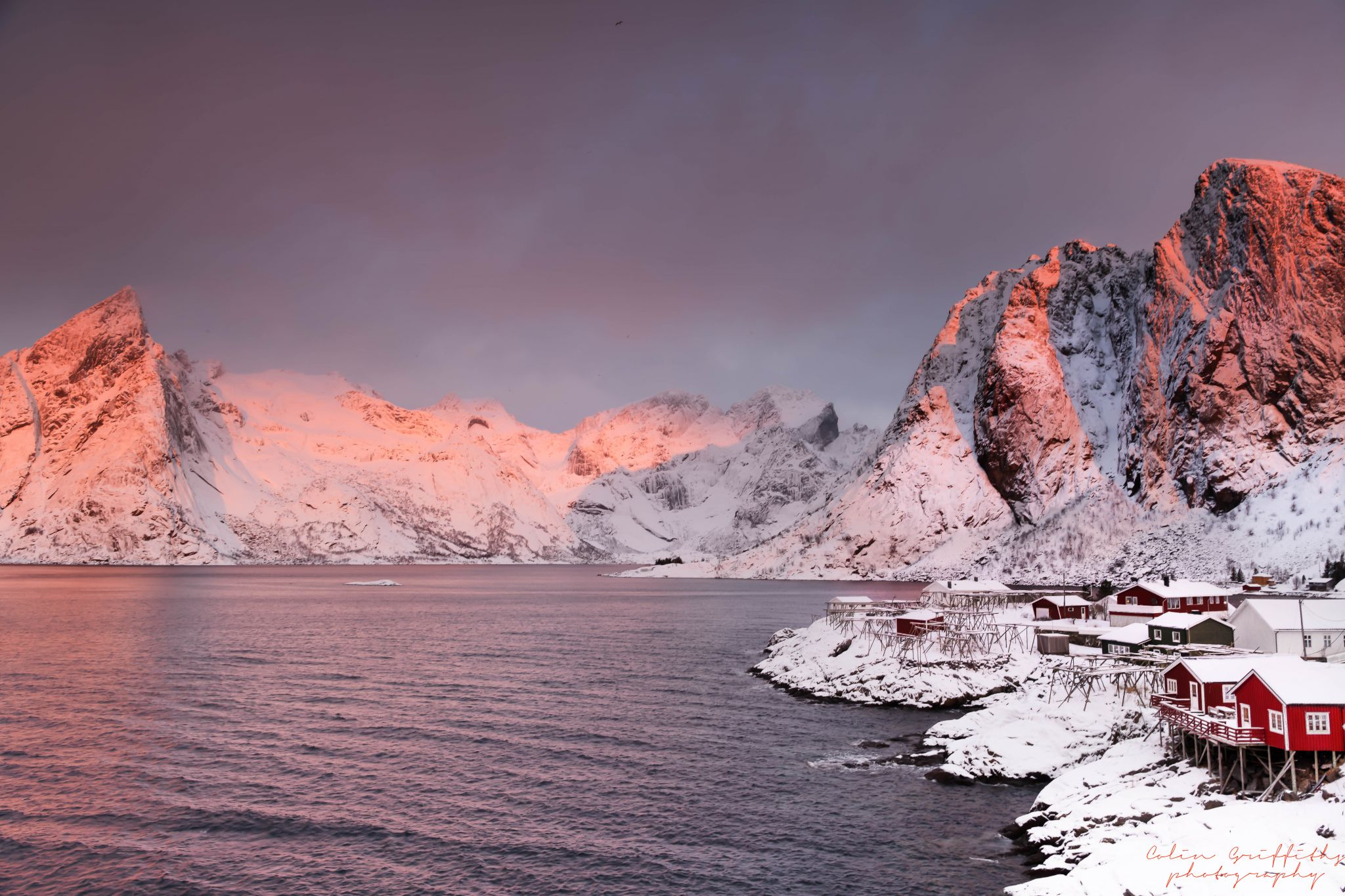 hamnoy sunrise, Norway