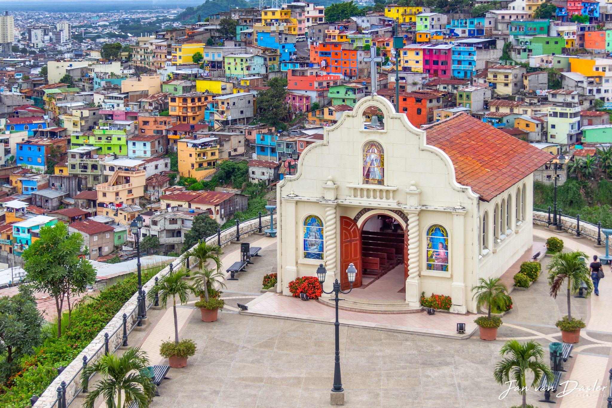 Iglesia del Cerro Santa Ana, Guayaquil, Ecuador