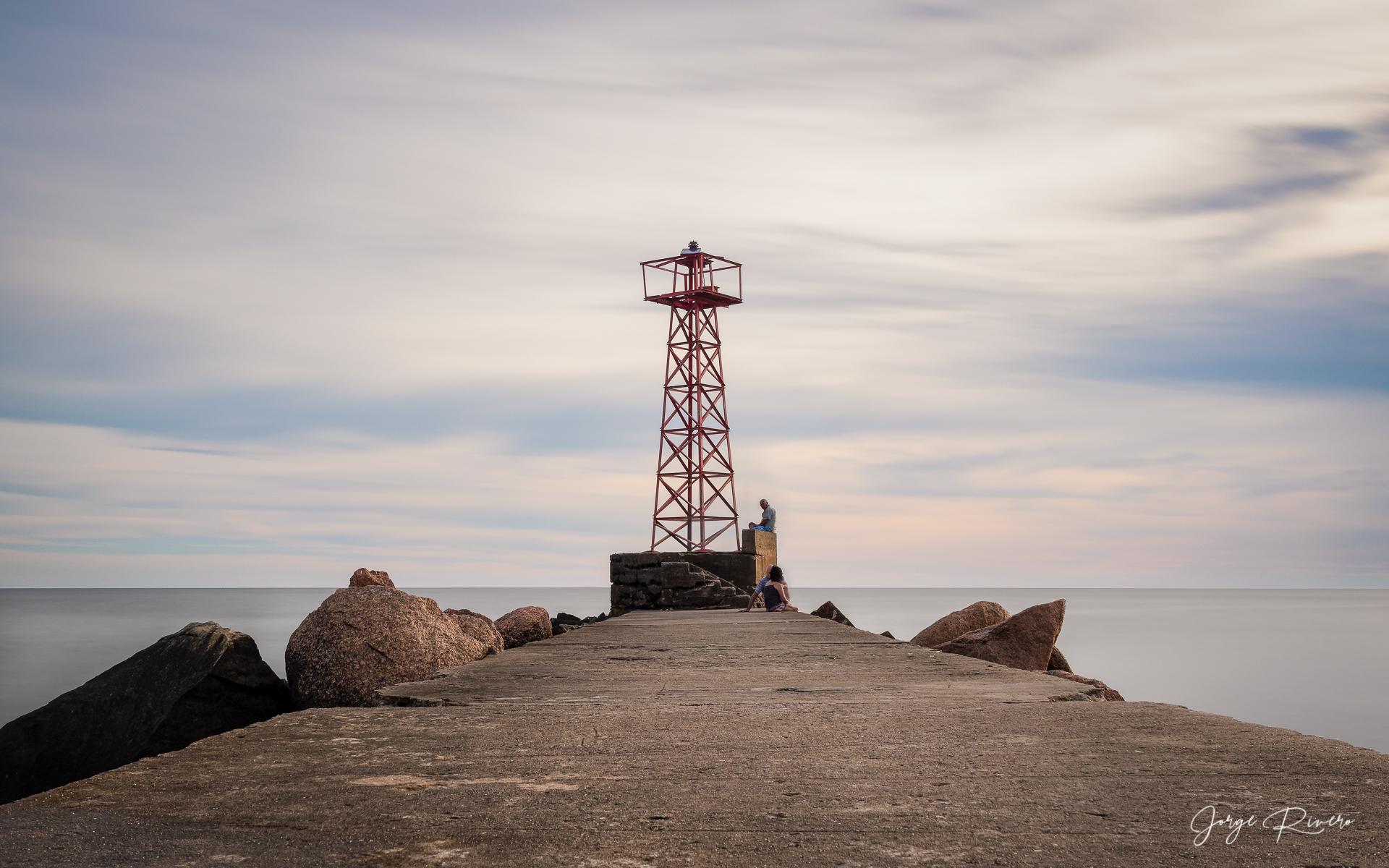 Isla de Mono Pier, Uruguay, Eastern Republic of