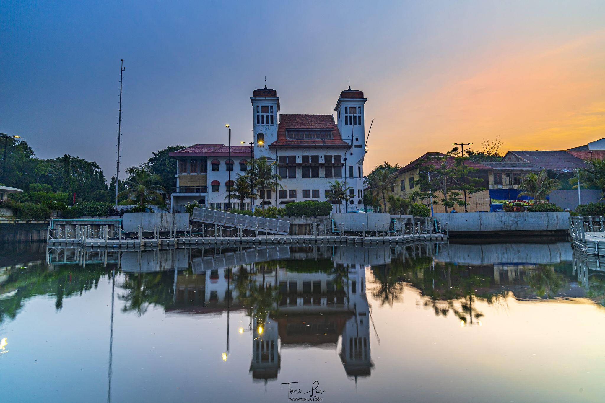 Jakarta Old Town (Krukut River), Indonesia