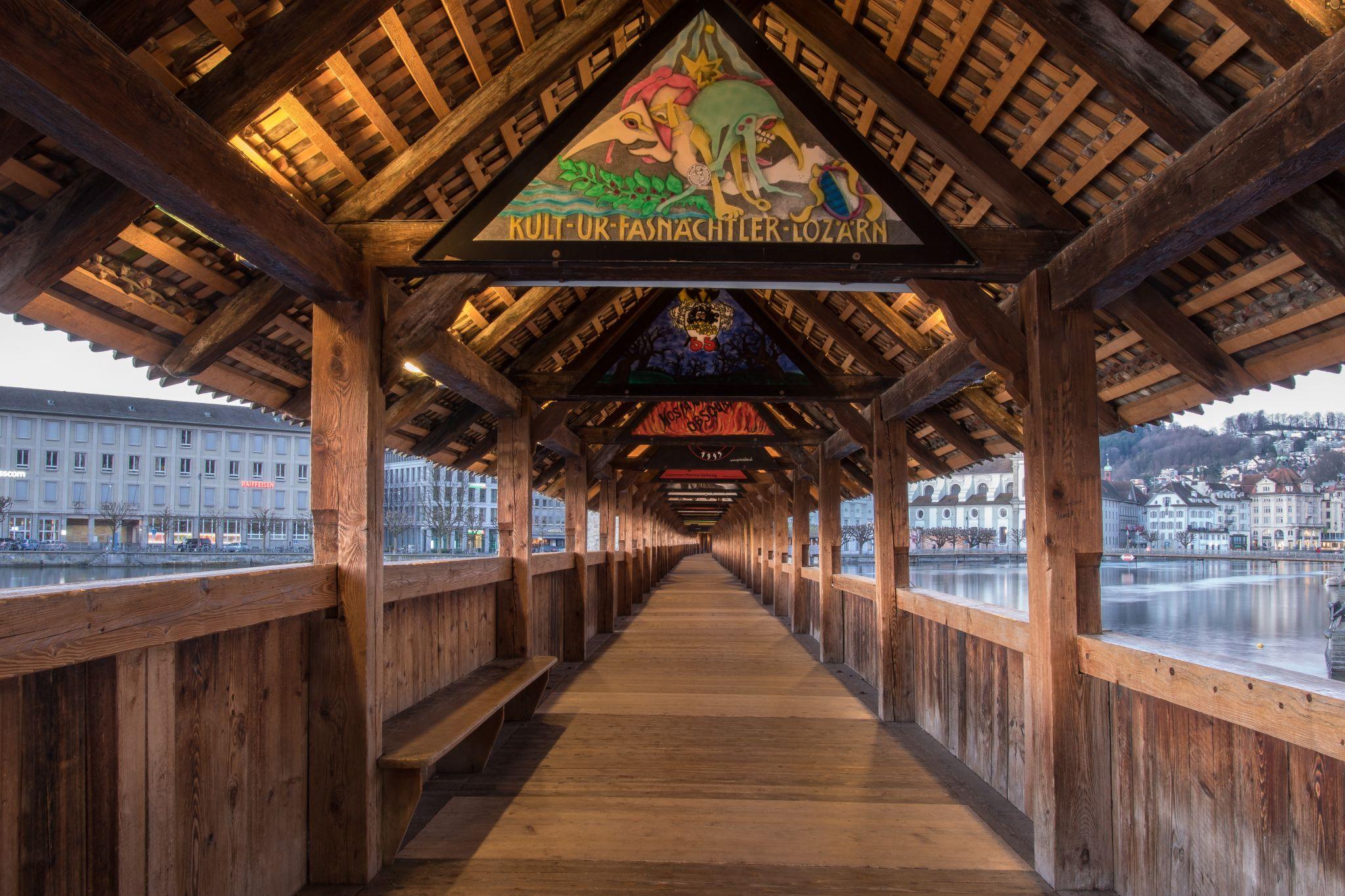 Kapellbrücke, Switzerland
