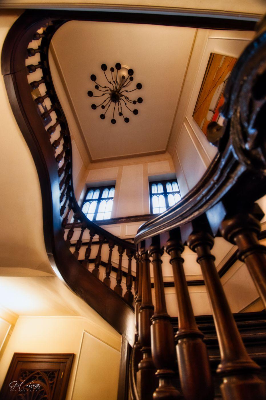 Kasteel Bouchout - staircase, Belgium