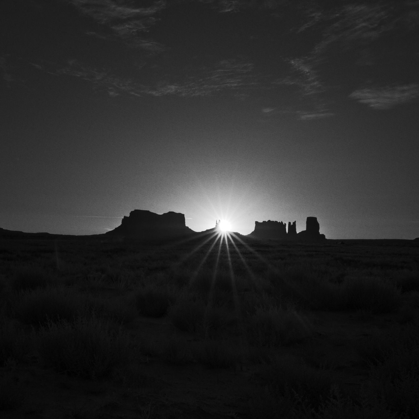 Views from Koa Campsite Monument Valley, USA