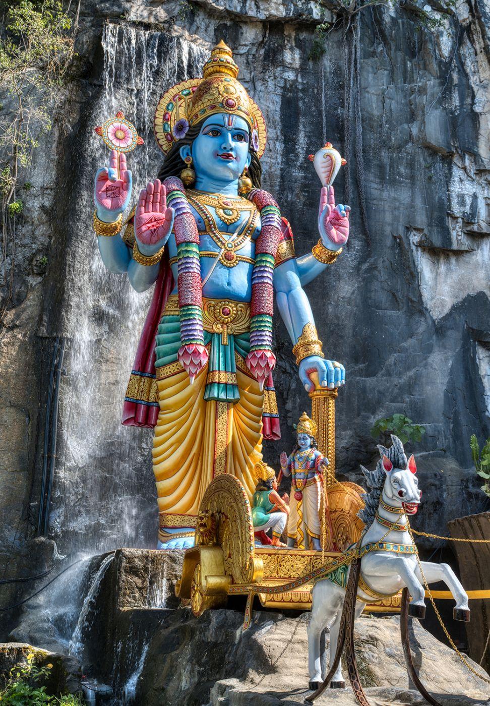 Krishna statue, Malaysia